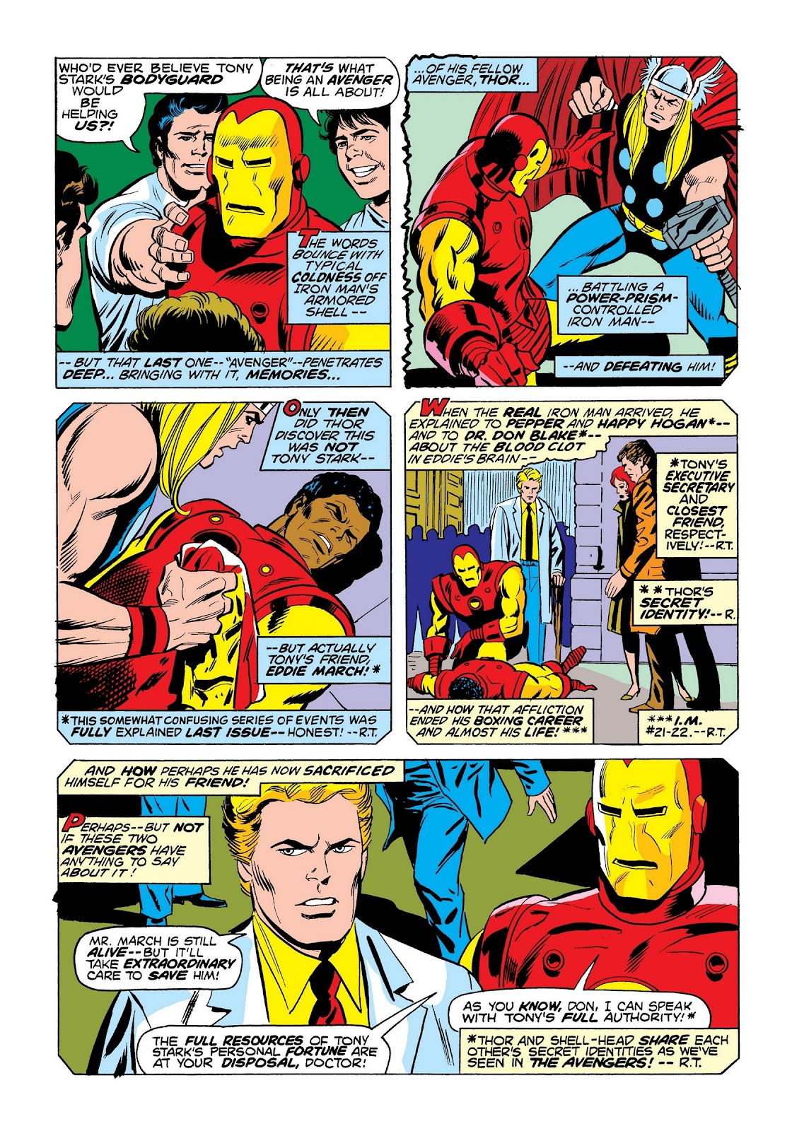 Read online Marvel Masterworks: The Invincible Iron Man comic -  Issue # TPB 9 (Part 3) - 77
