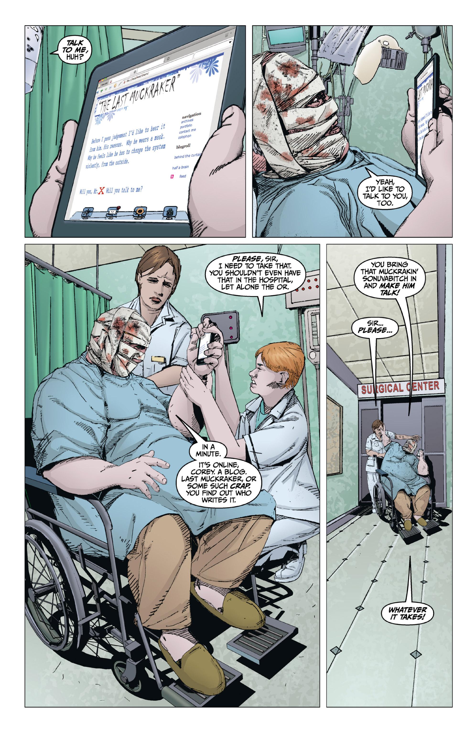 Read online X: Big Bad comic -  Issue # Full - 77
