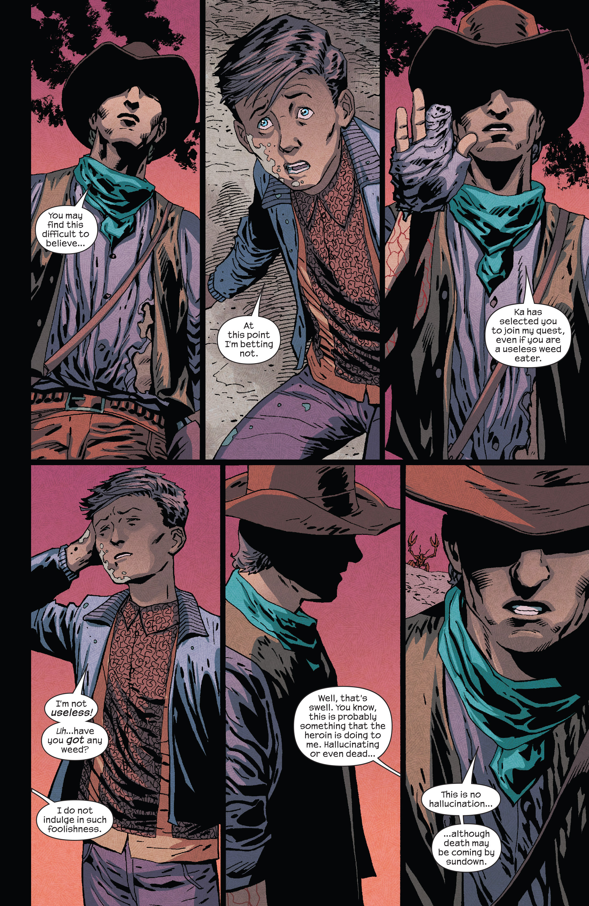 Read online Dark Tower: The Drawing of the Three - The Prisoner comic -  Issue #5 - 20