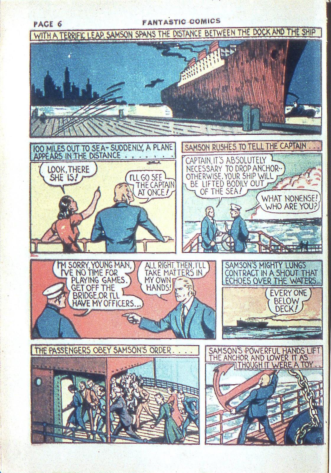 Read online Fantastic Comics comic -  Issue #3 - 9