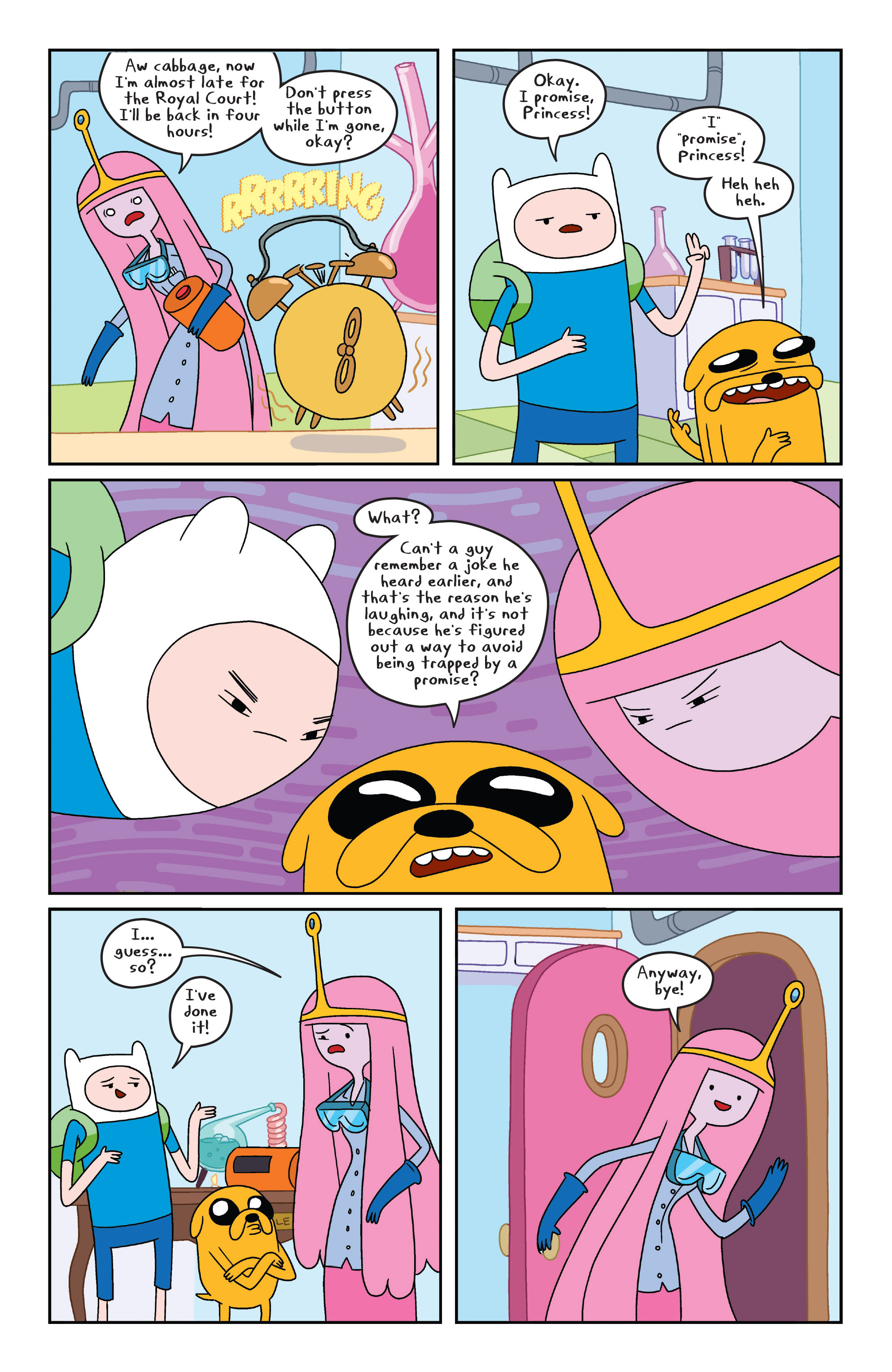 Read online Adventure Time comic -  Issue #6 - 13