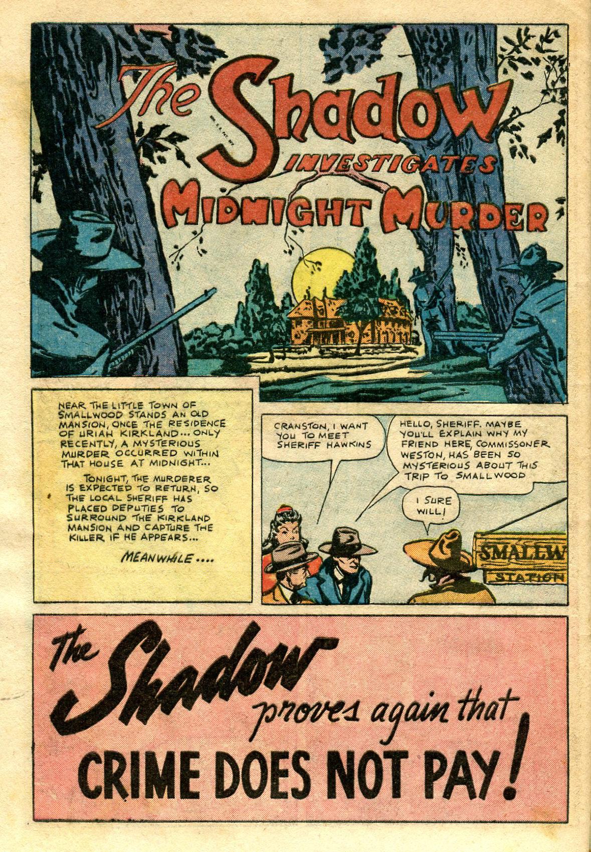Read online Shadow Comics comic -  Issue #65 - 42