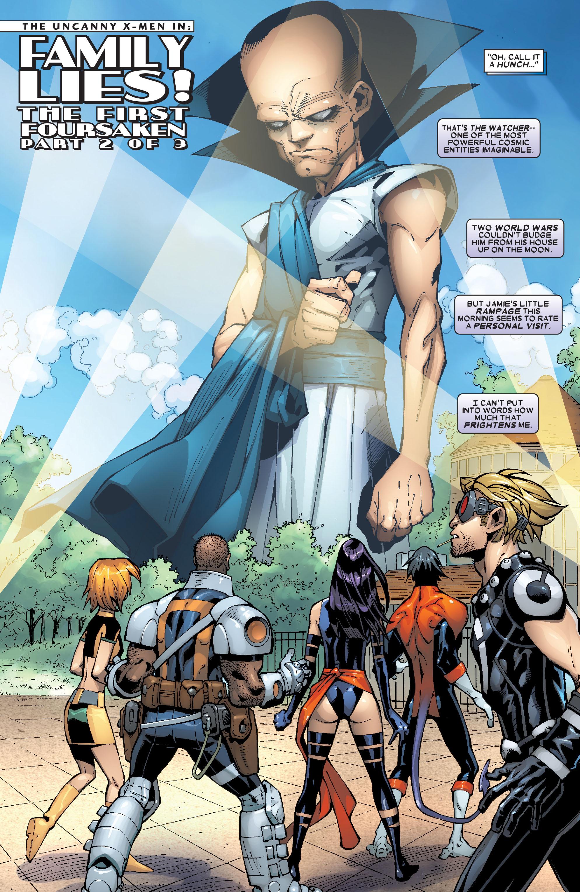 Uncanny X-Men (1963) 473 Page 2