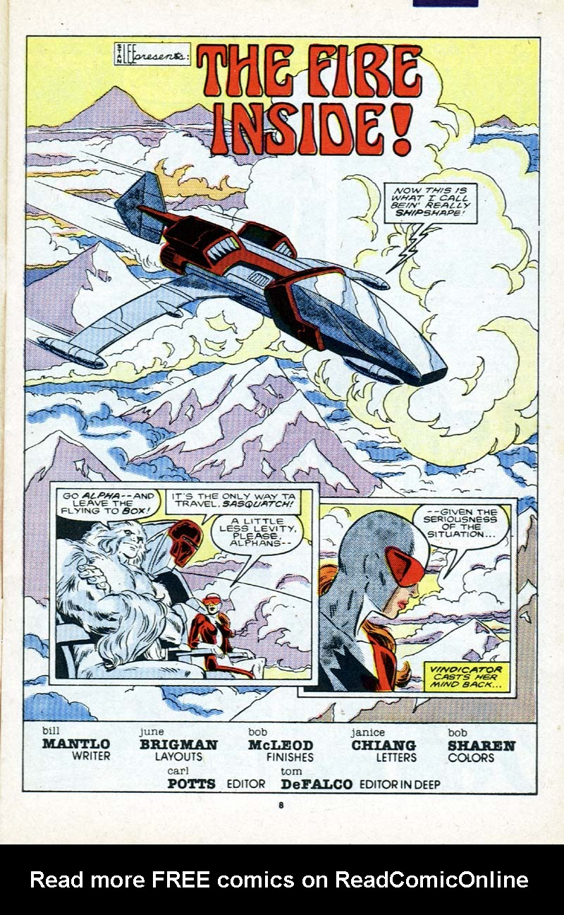 Read online Alpha Flight (1983) comic -  Issue # _Annual 2 - 9