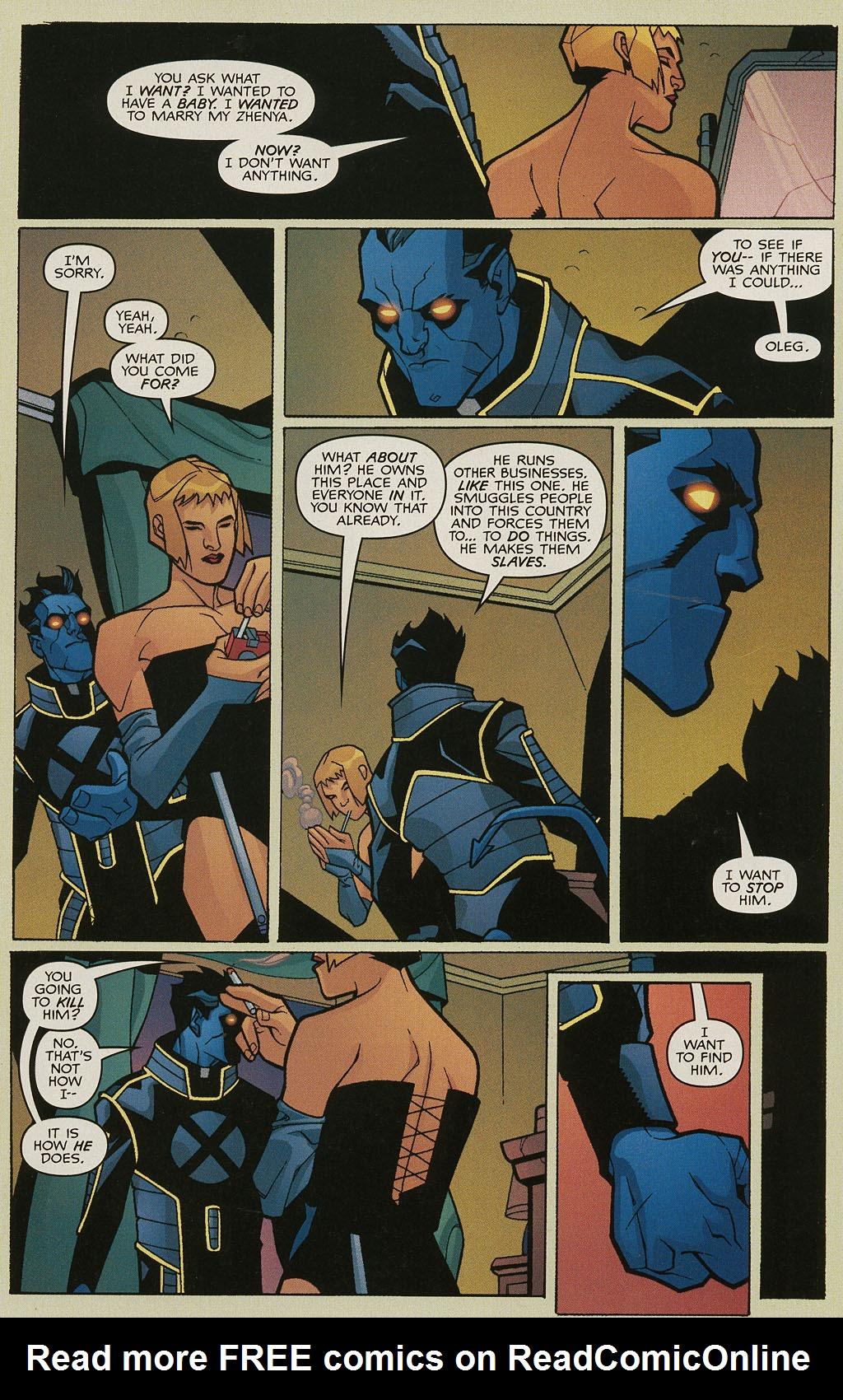 Read online Nightcrawler (2002) comic -  Issue #3 - 6