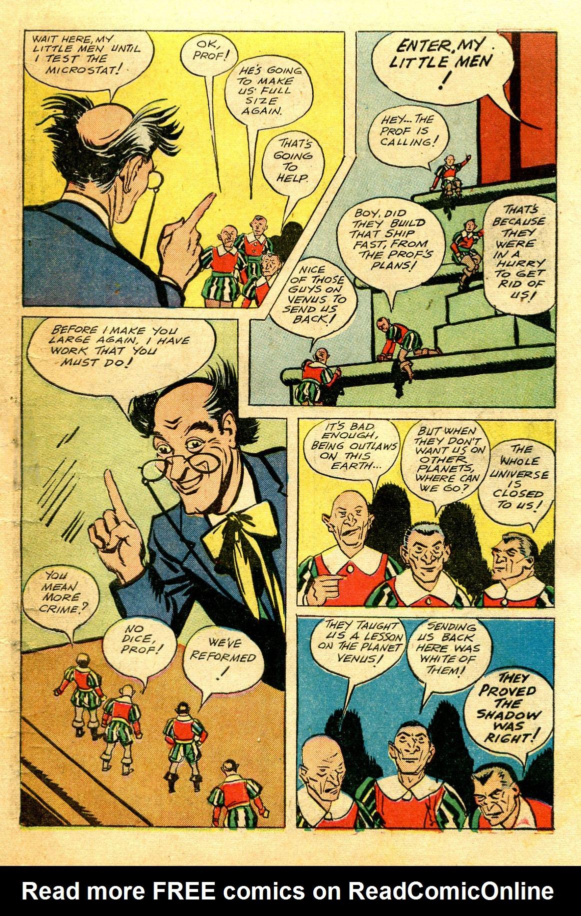 Read online Shadow Comics comic -  Issue #43 - 53