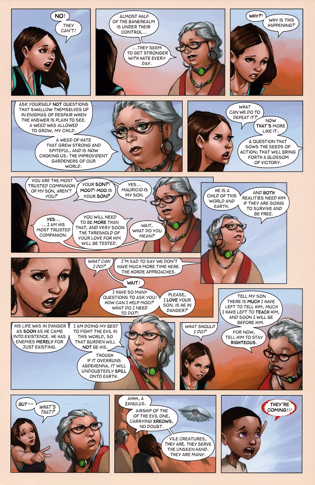 Read online Vescell comic -  Issue #6 - 11