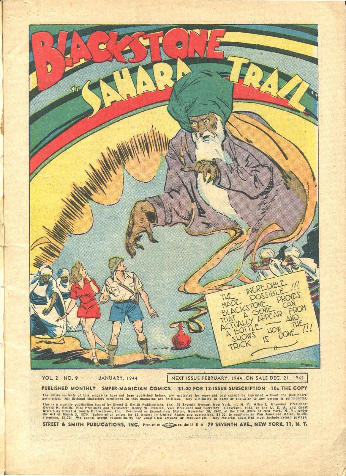 Read online Super-Magician Comics comic -  Issue #21 - 3