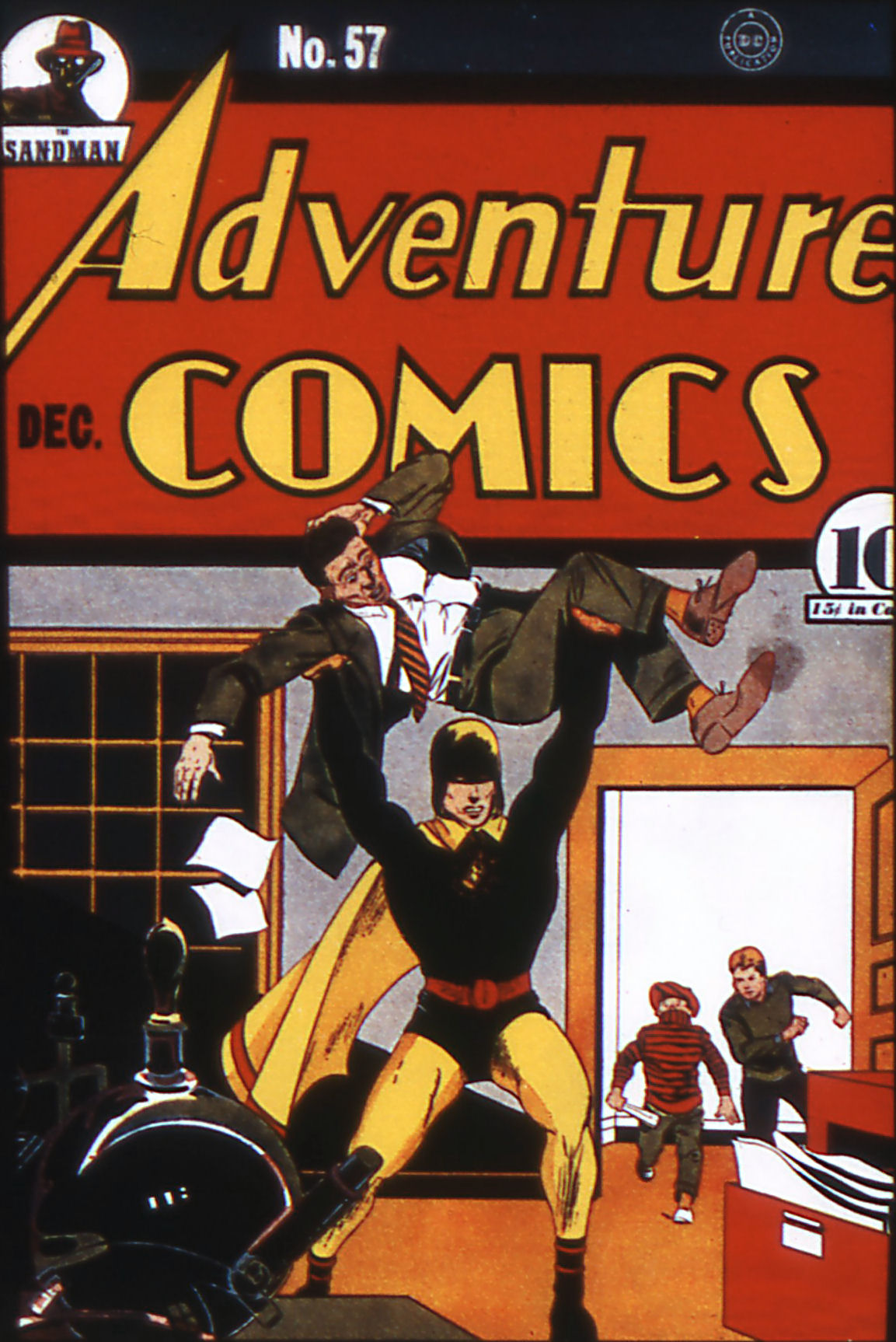 Read online Adventure Comics (1938) comic -  Issue #57 - 1