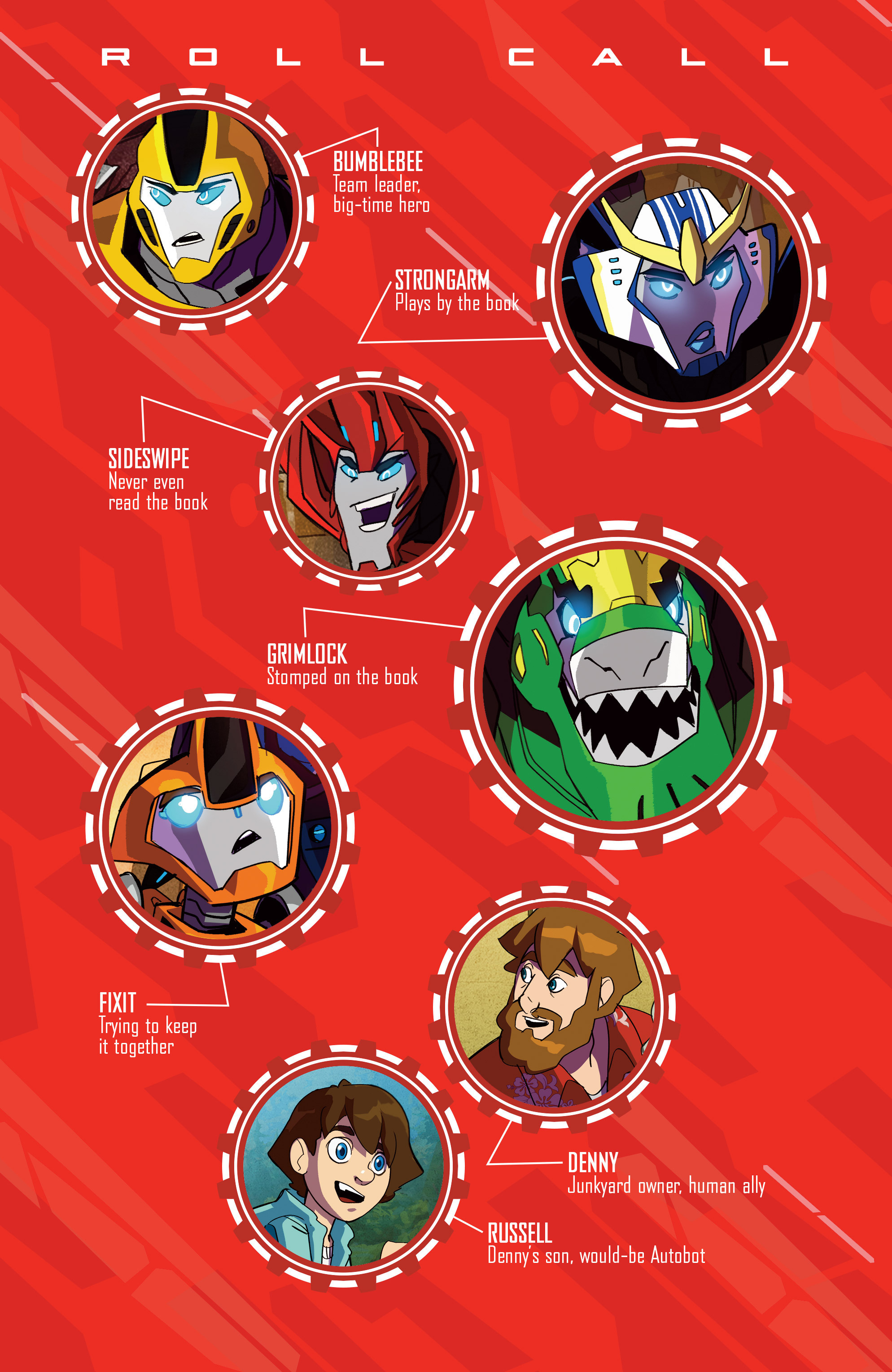 Read online Transformers: Robots In Disguise (2015) comic -  Issue #4 - 4