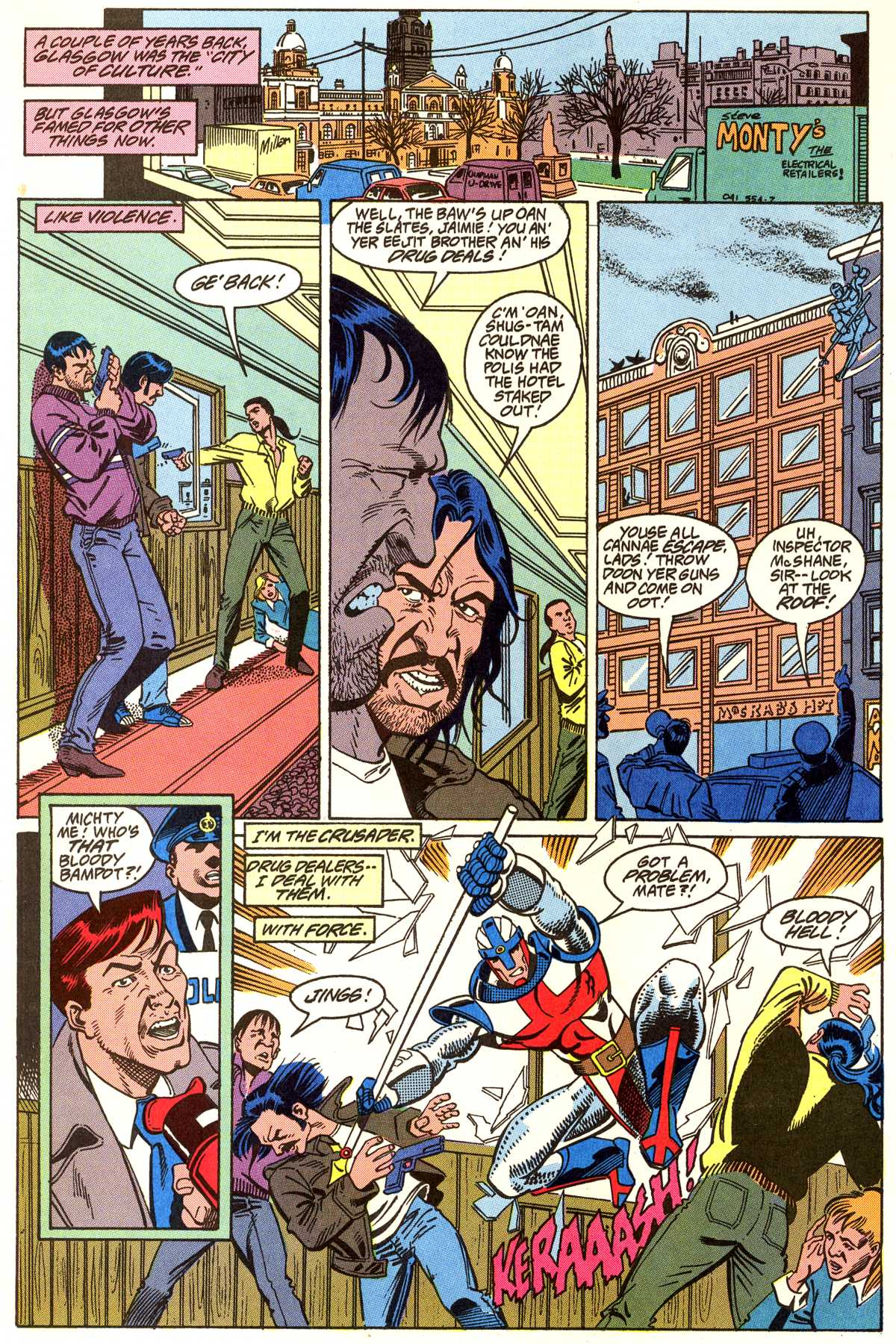 Read online Peter Cannon--Thunderbolt (1992) comic -  Issue #5 - 11