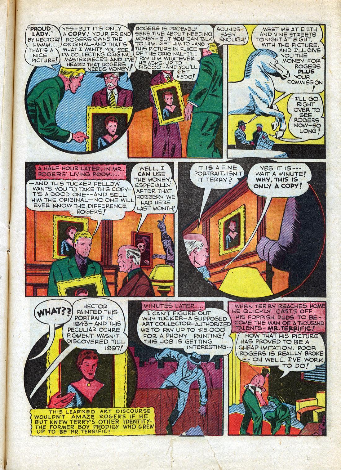 Read online Sensation (Mystery) Comics comic -  Issue #26 - 43
