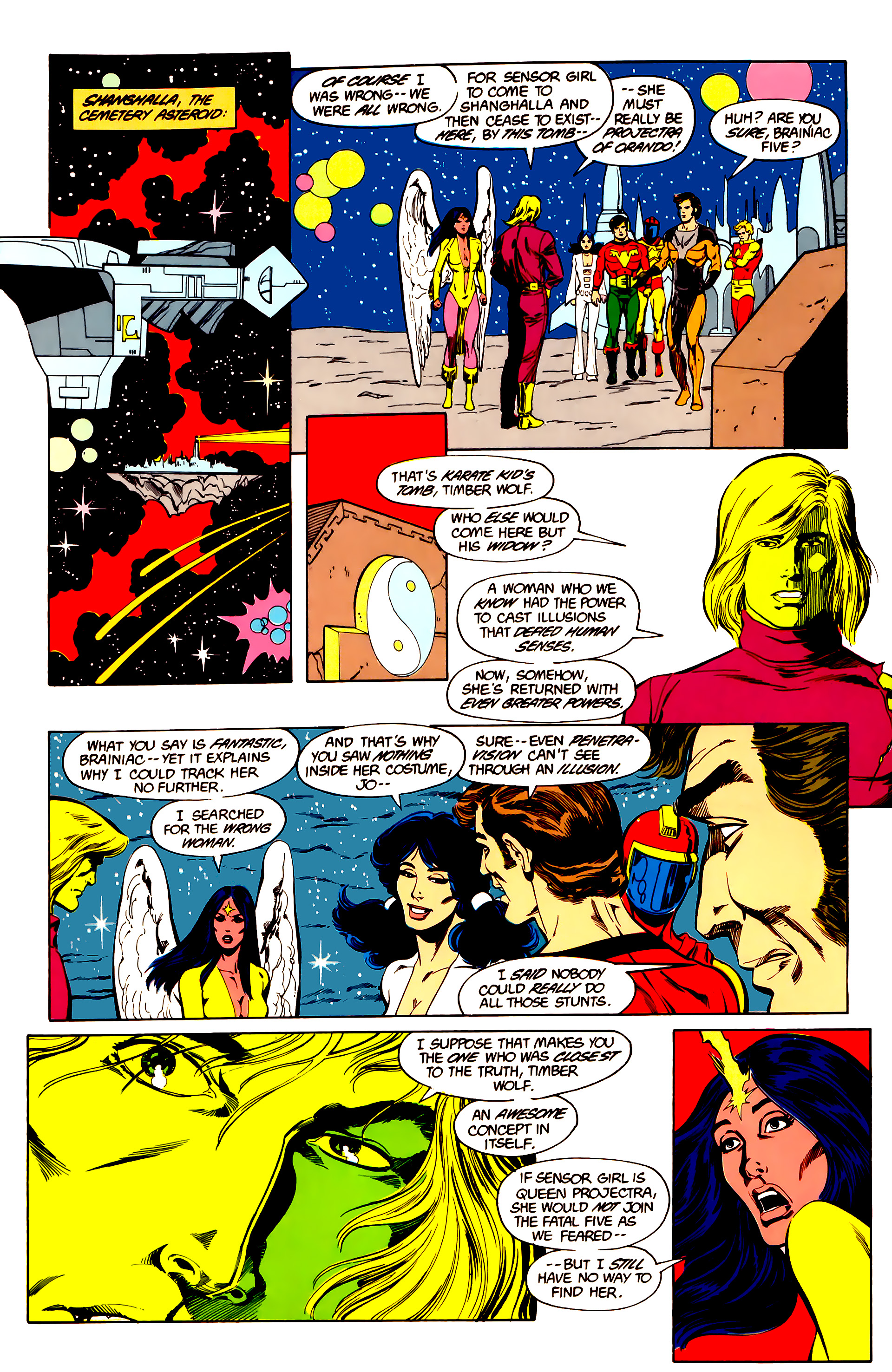 Legion of Super-Heroes (1984) 26 Page 6