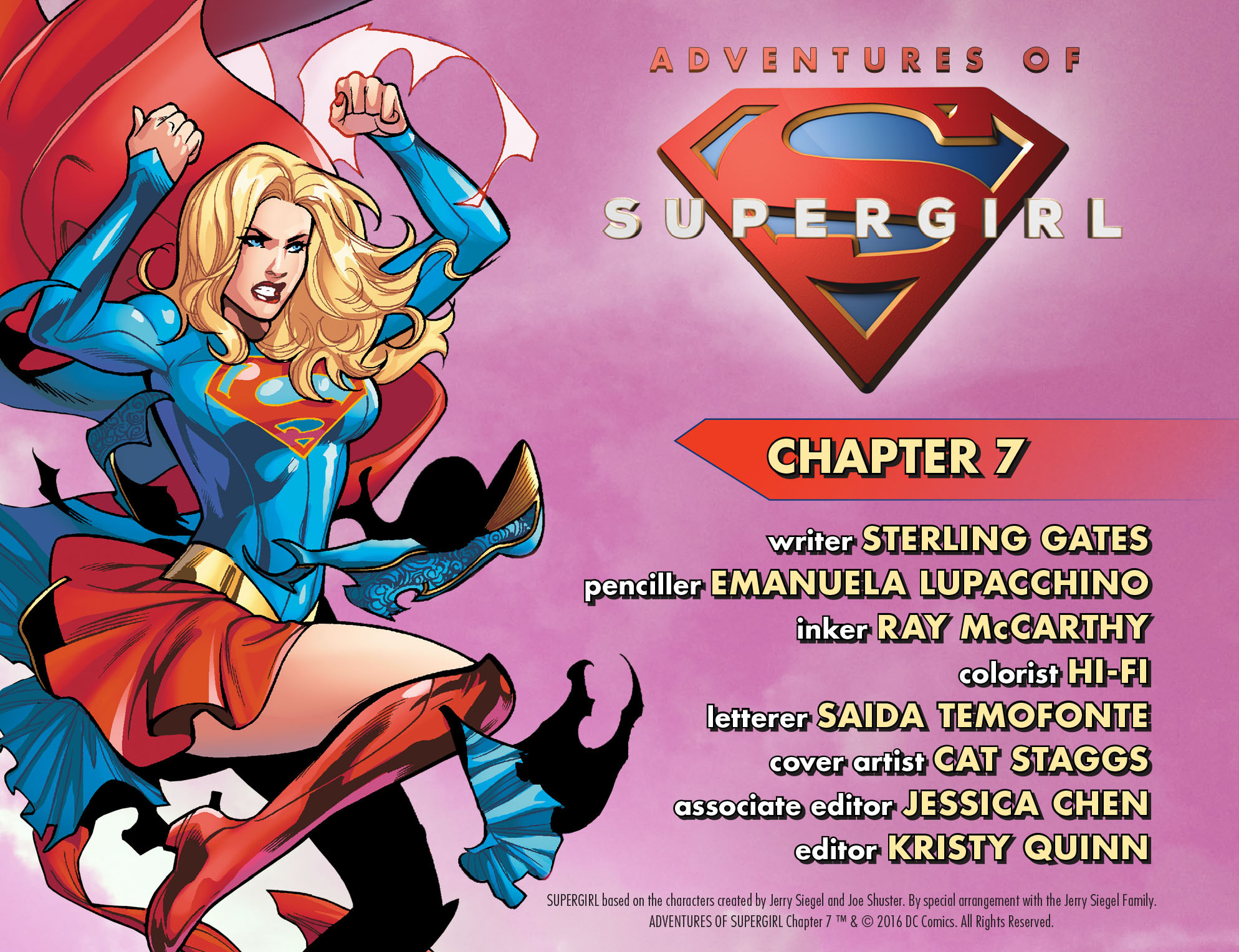Adventures of Supergirl 7 Page 2