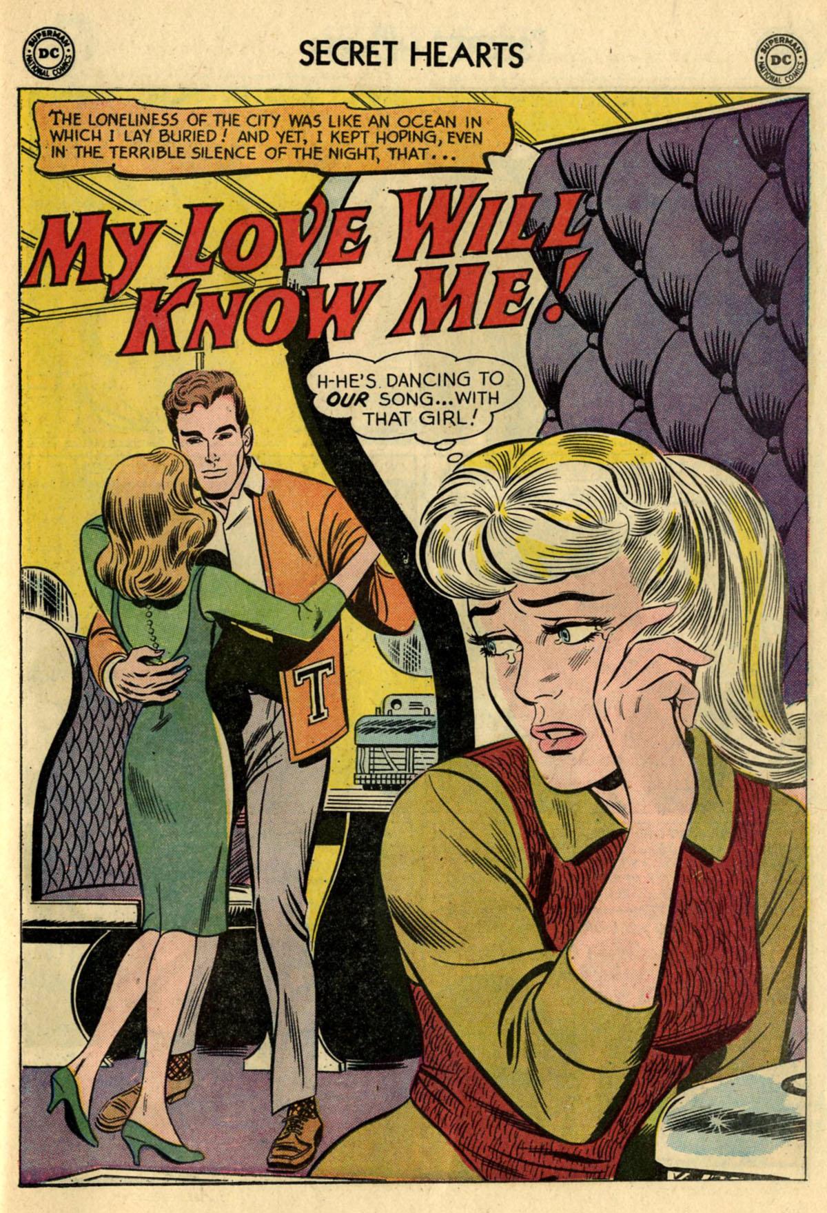 Read online Secret Hearts comic -  Issue #83 - 27