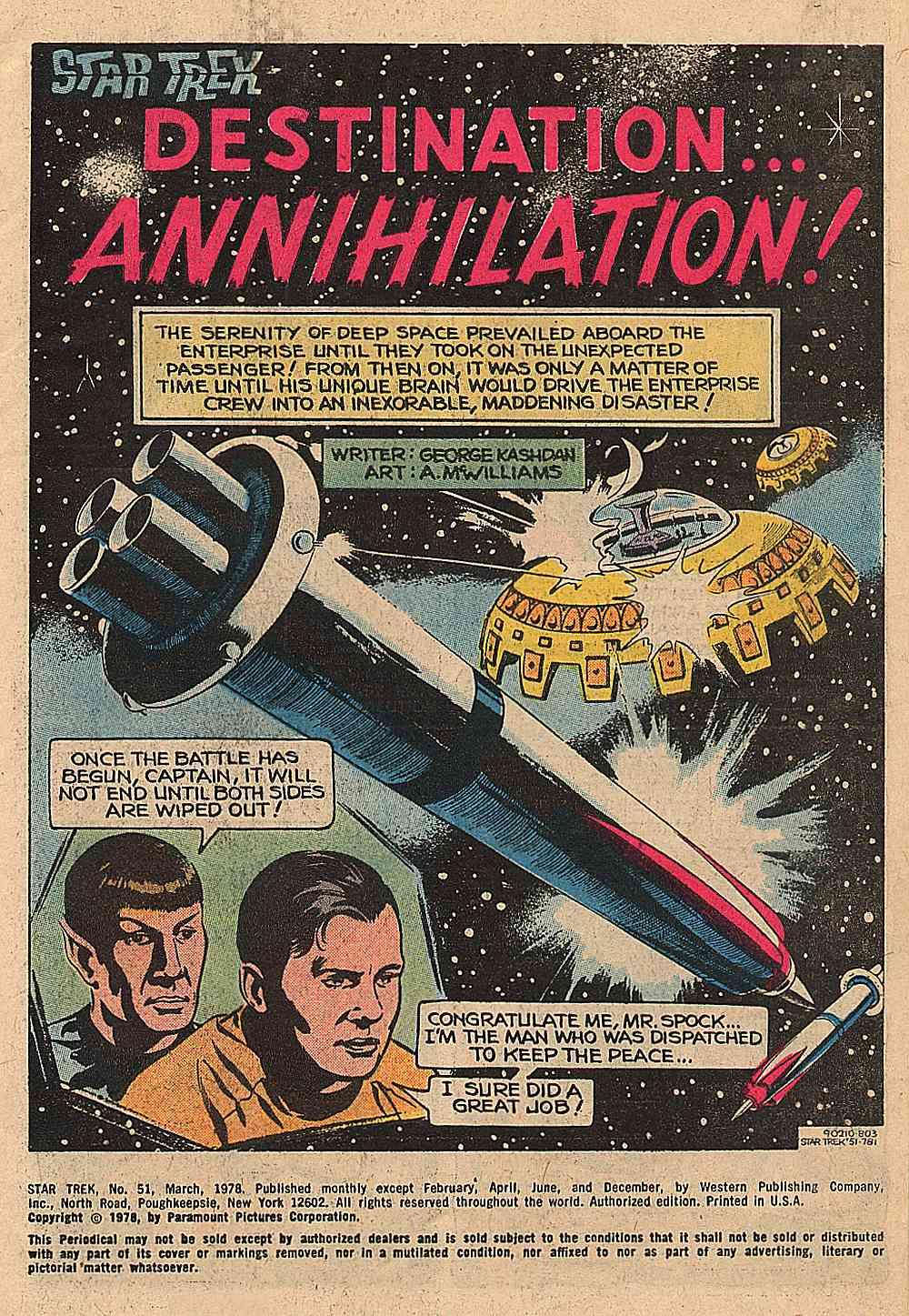 Star Trek (1967) issue 51 - Page 2