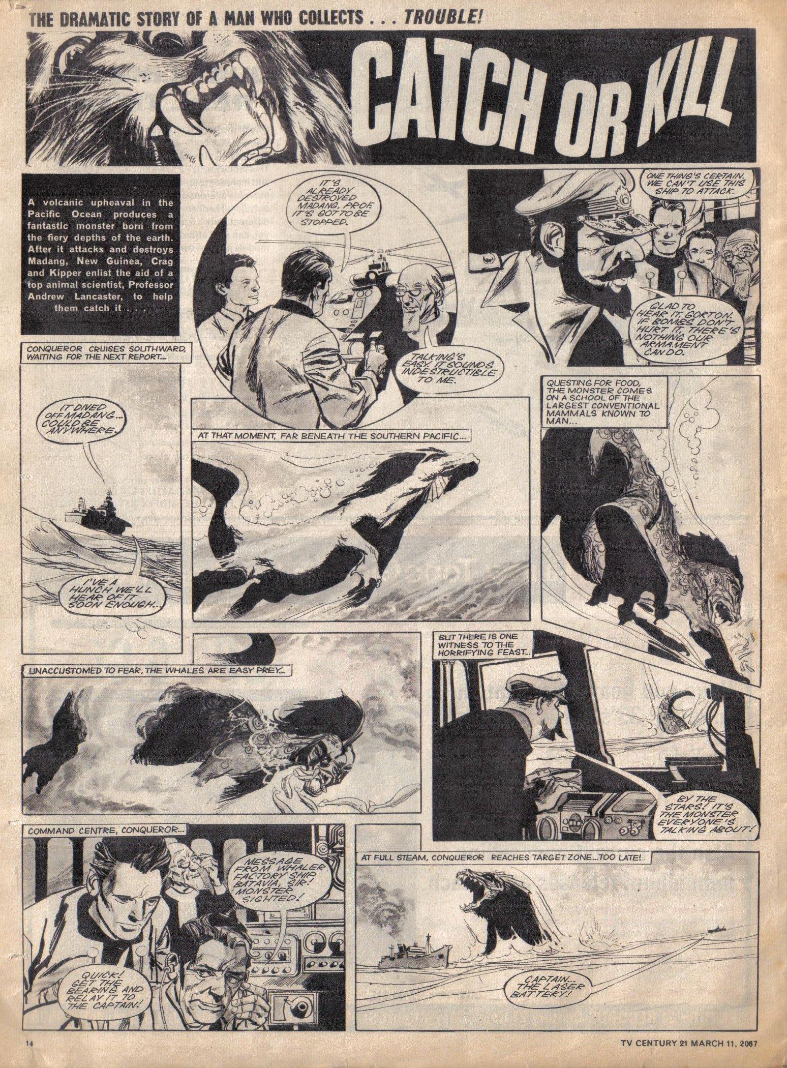 Read online TV Century 21 (TV 21) comic -  Issue #112 - 13