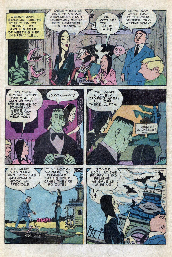 Read online Addams Family comic -  Issue #3 - 36