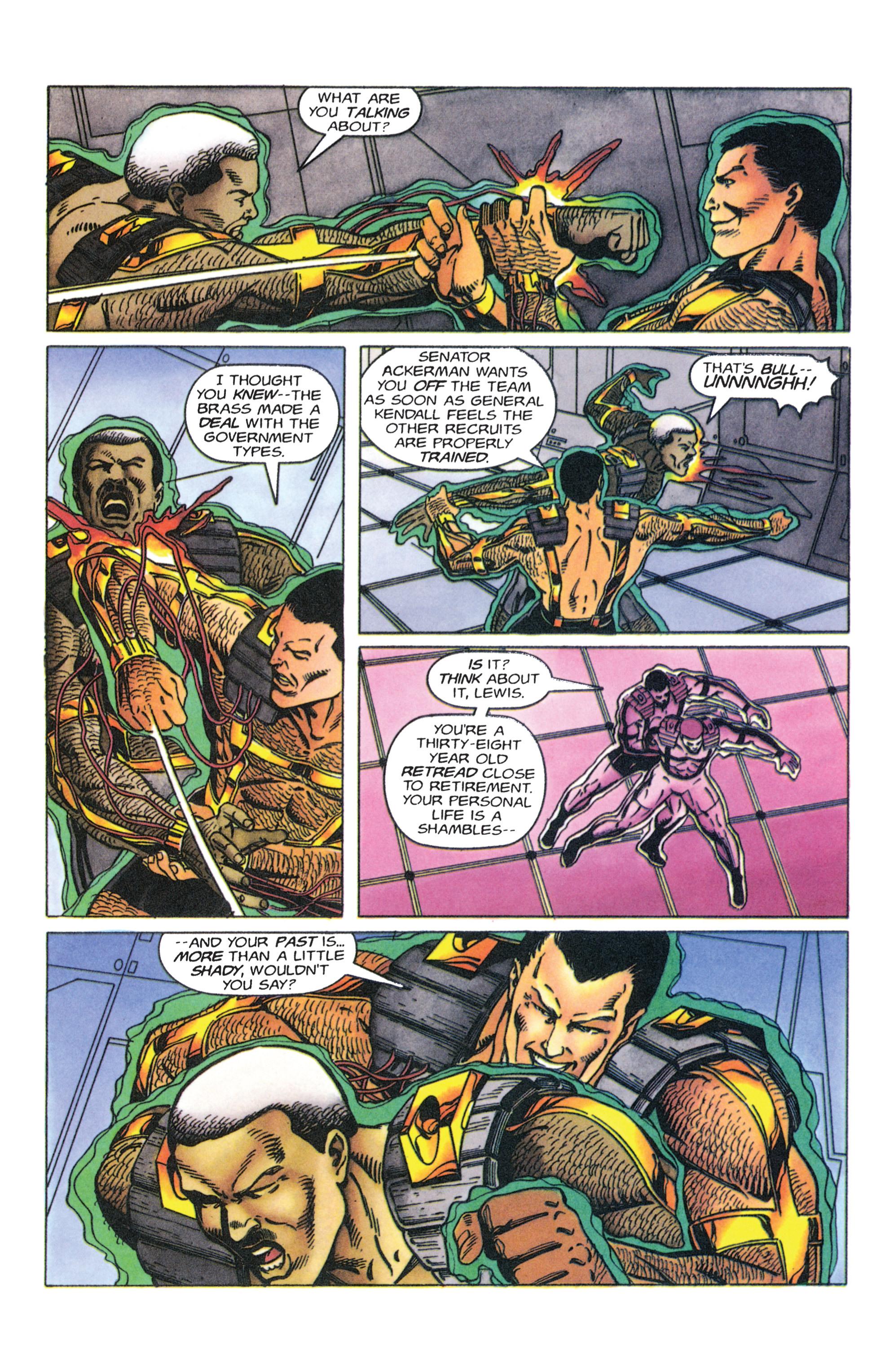 Read online Armorines comic -  Issue #4 - 4