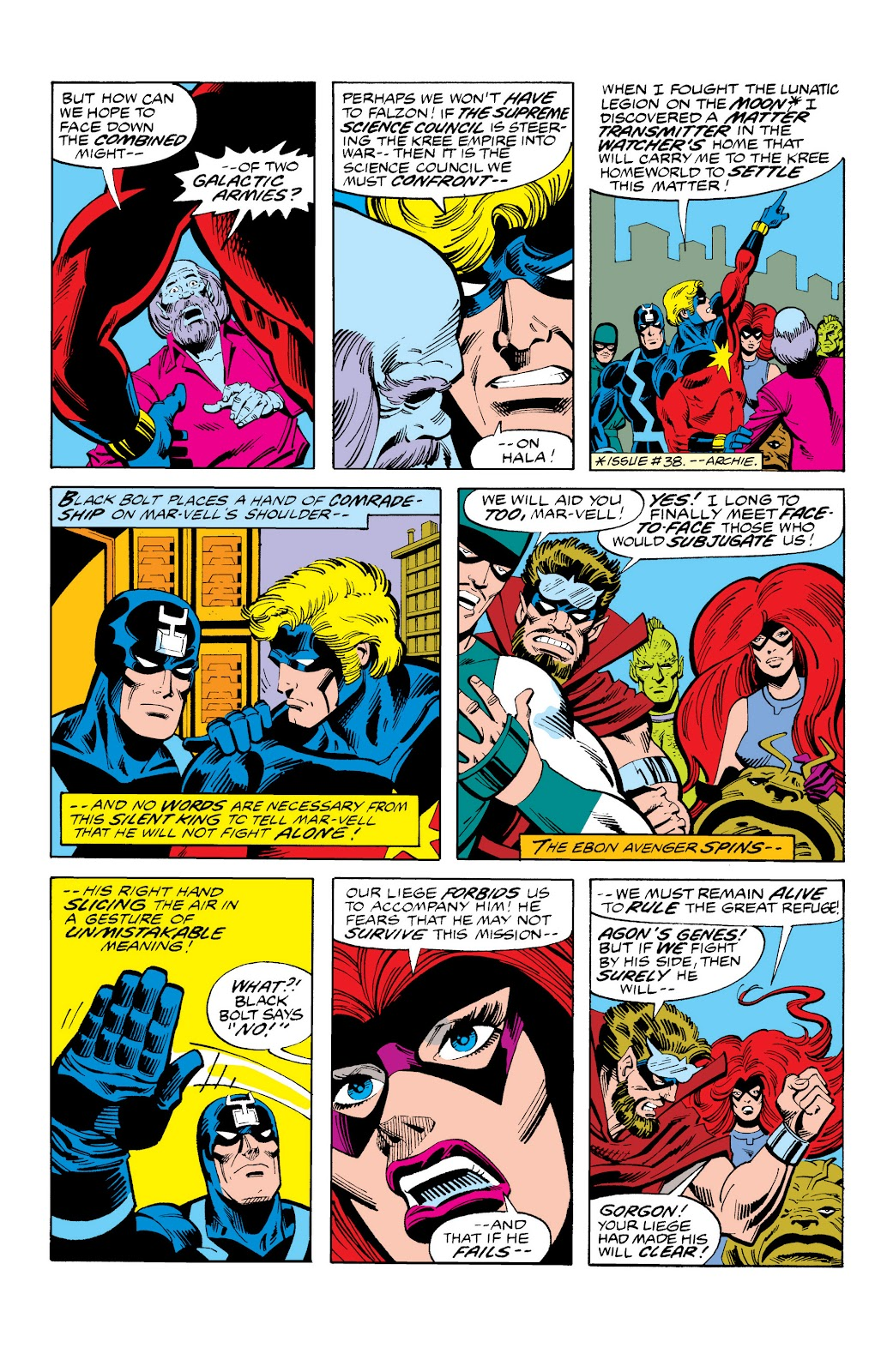 Read online Marvel Masterworks: The Inhumans comic -  Issue # TPB 2 (Part 3) - 35