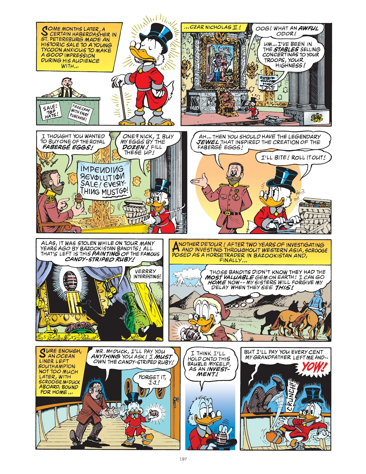 Read online The Complete Life and Times of Scrooge McDuck comic -  Issue # TPB 1 (Part 2) - 92
