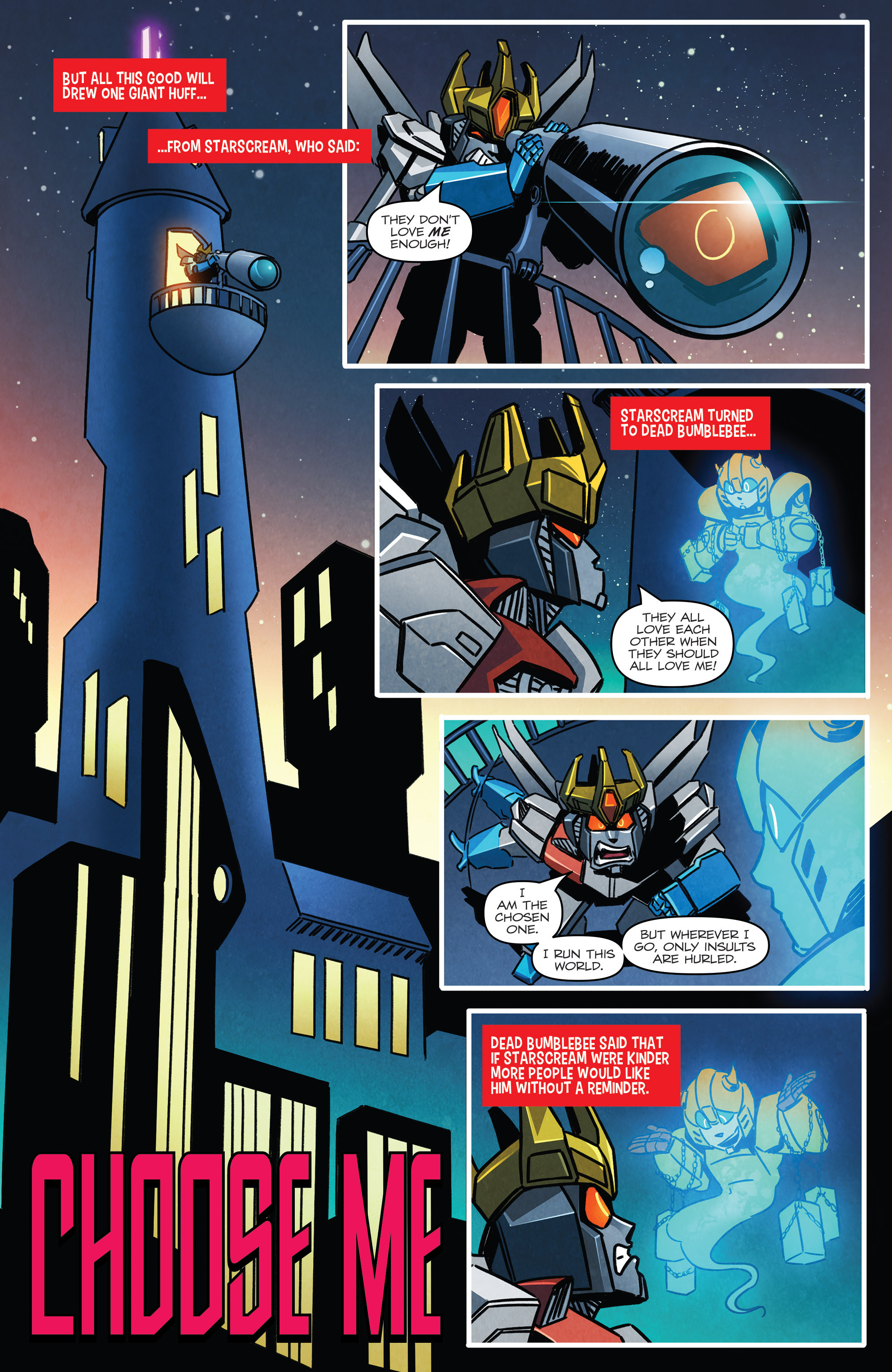 Read online Transformers: Holiday Special comic -  Issue # Full - 4