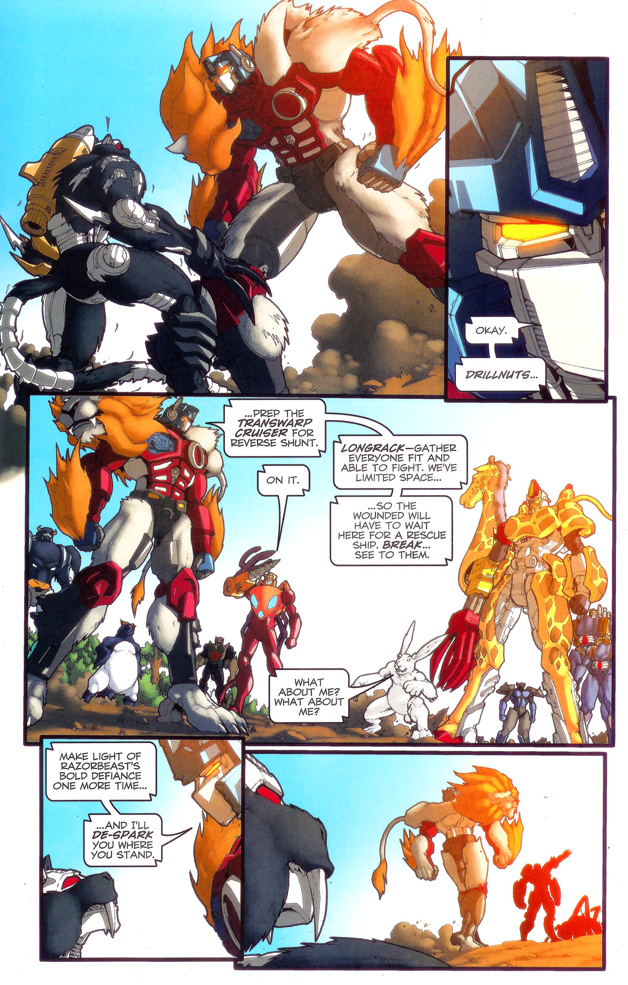 Read online Transformers: Beast Wars: The Ascending comic -  Issue #3 - 18
