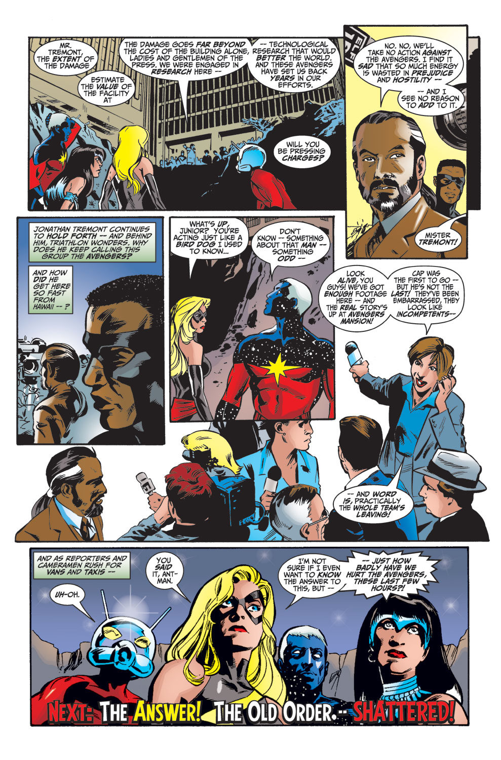 Read online Avengers (1998) comic -  Issue #26 - 23
