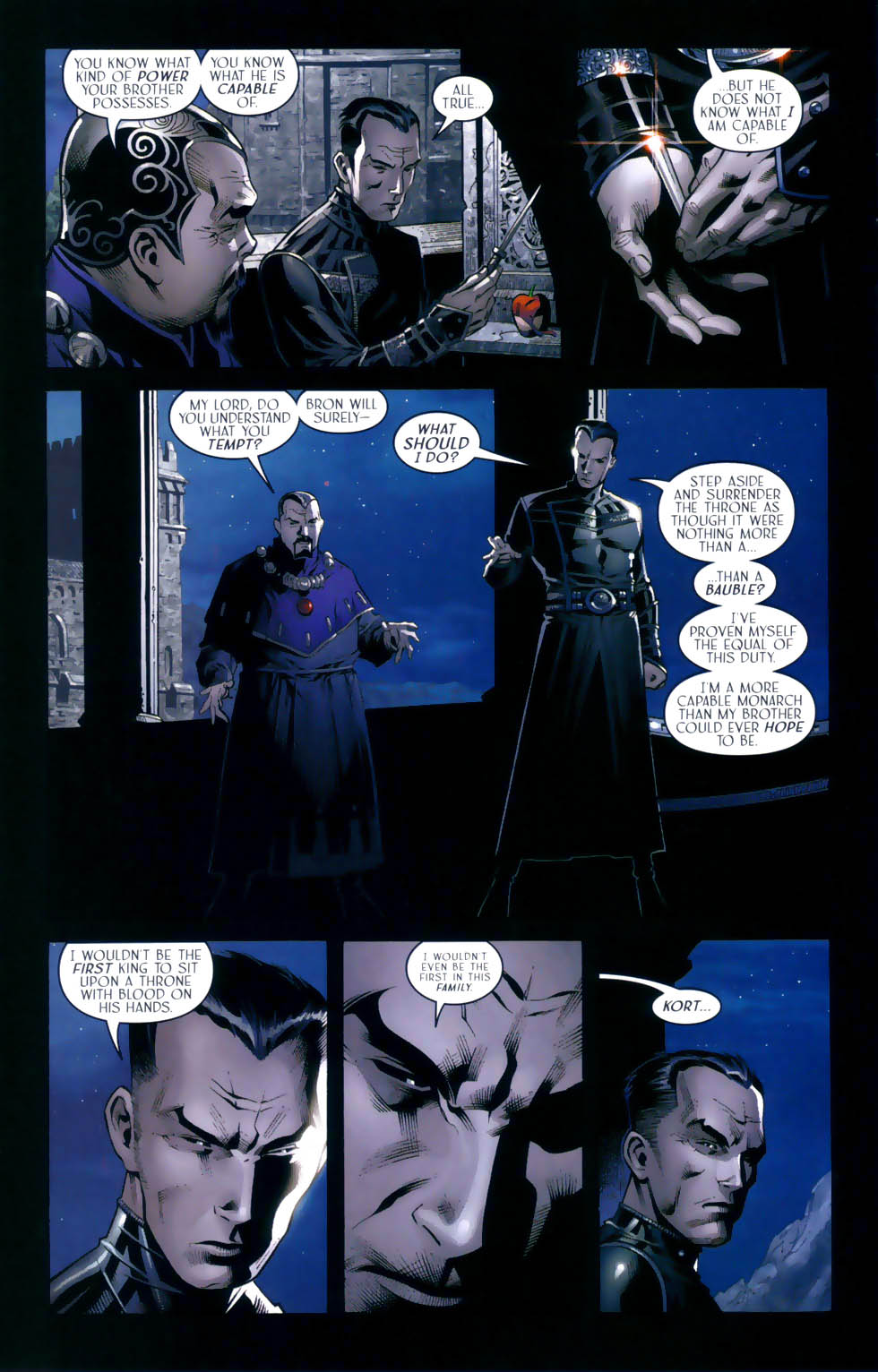 Read online Scion comic -  Issue #31 - 11