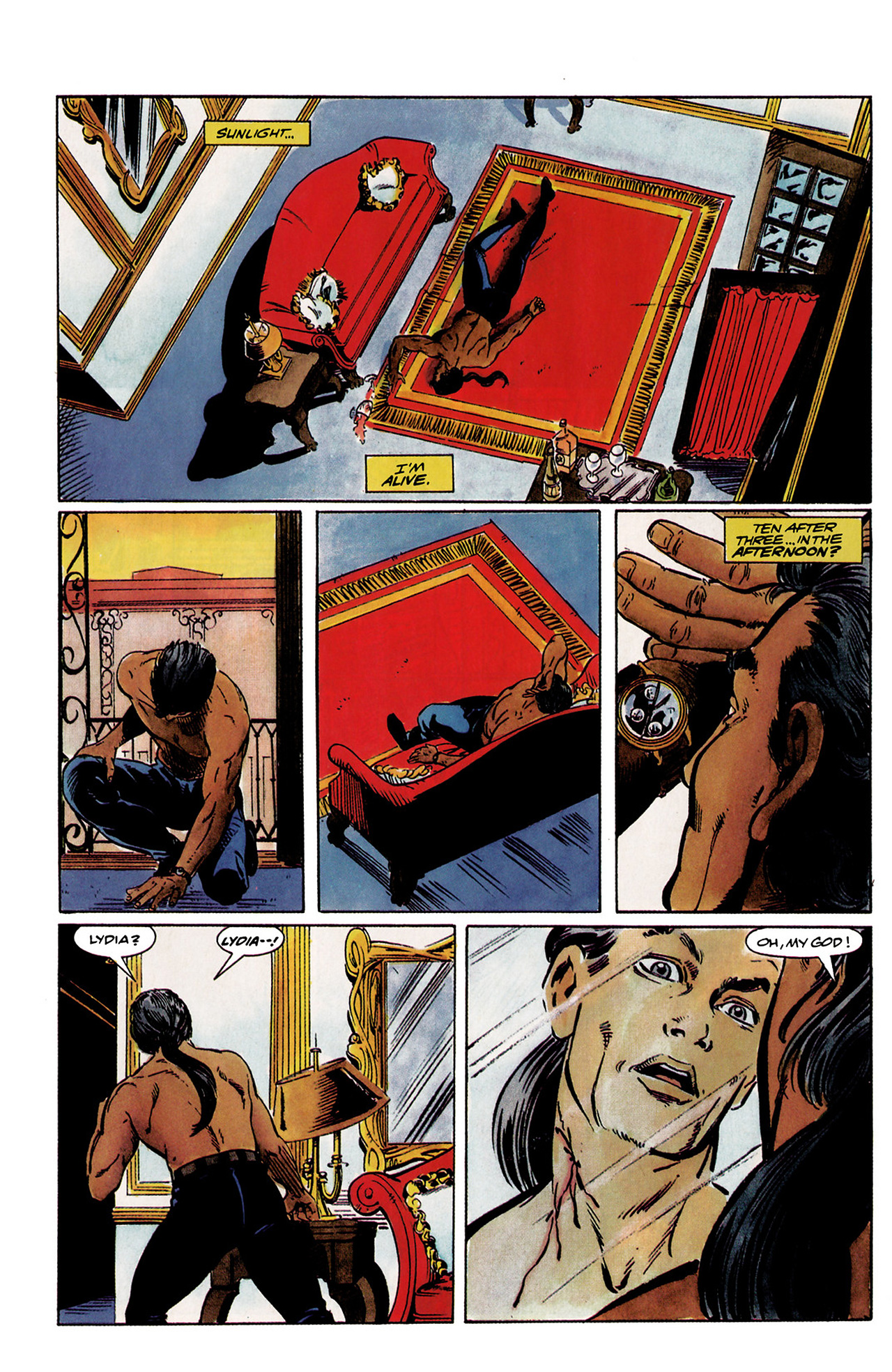 Read online Shadowman (1992) comic -  Issue #1 - 12