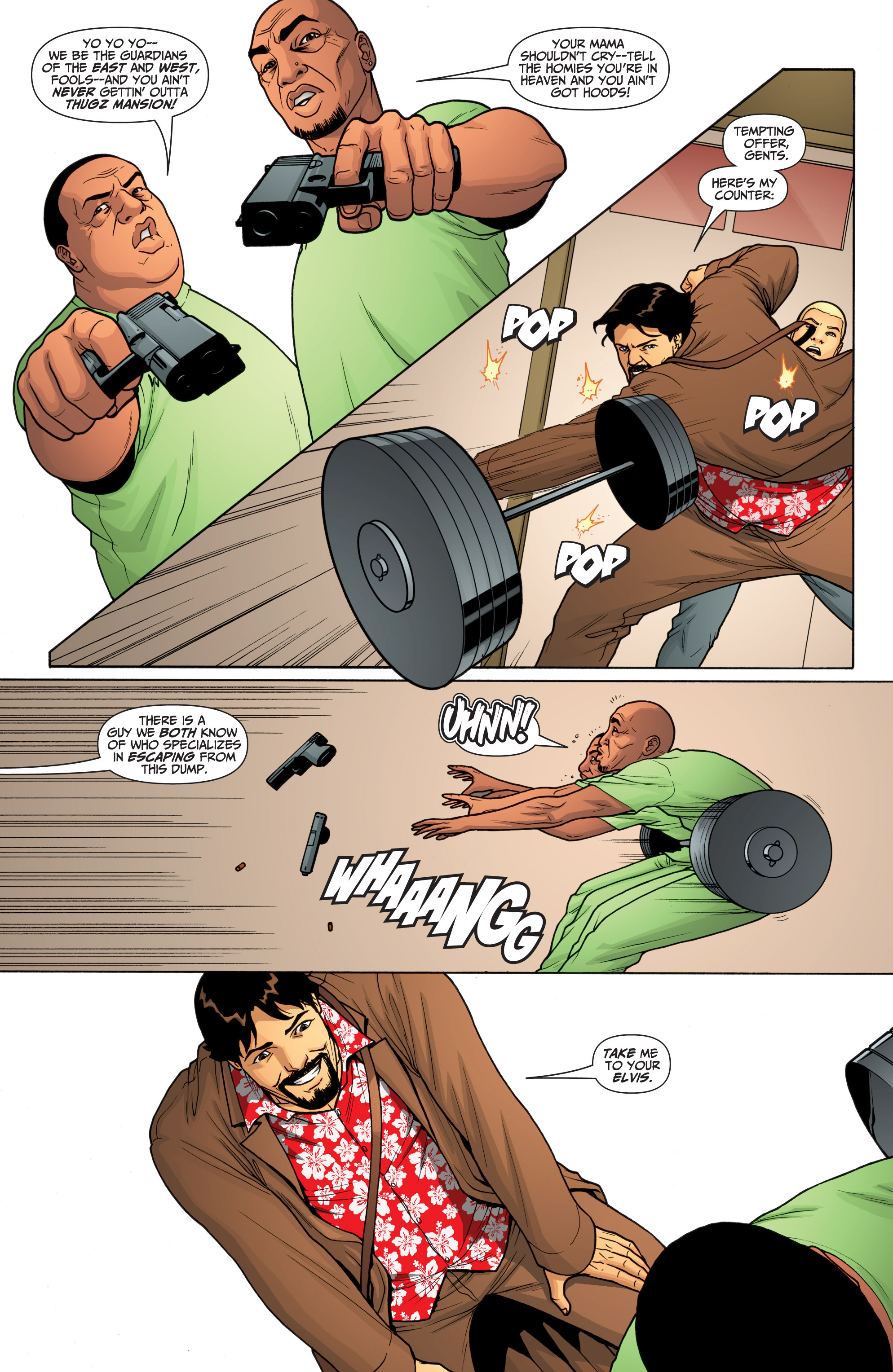 Read online Archer and Armstrong comic -  Issue #Archer and Armstrong _TPB 6 - 46