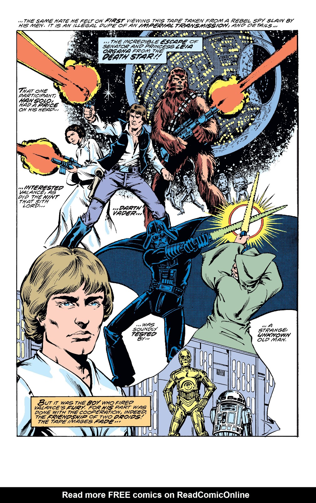Read online Star Wars Legends: The Original Marvel Years - Epic Collection comic -  Issue # TPB 1 (Part 3) - 88