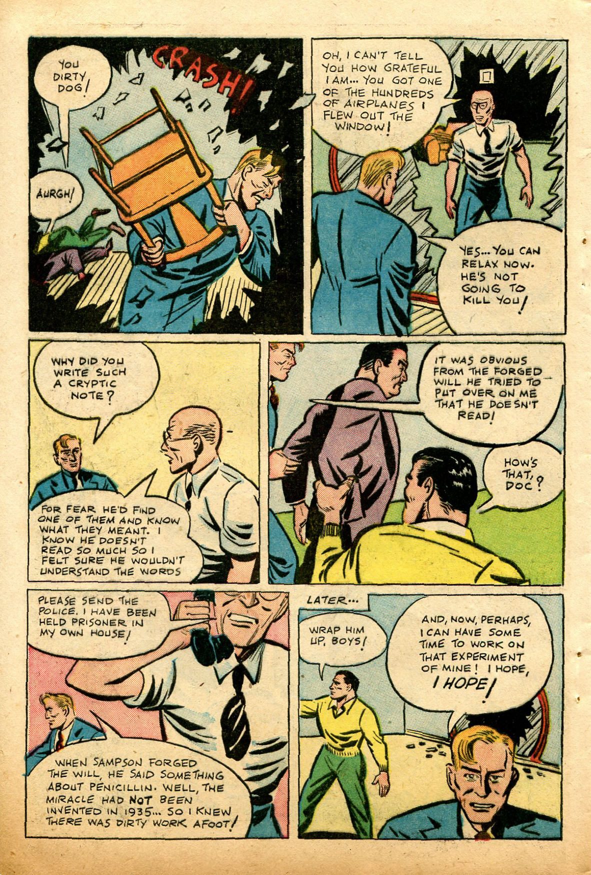 Read online Shadow Comics comic -  Issue #74 - 42