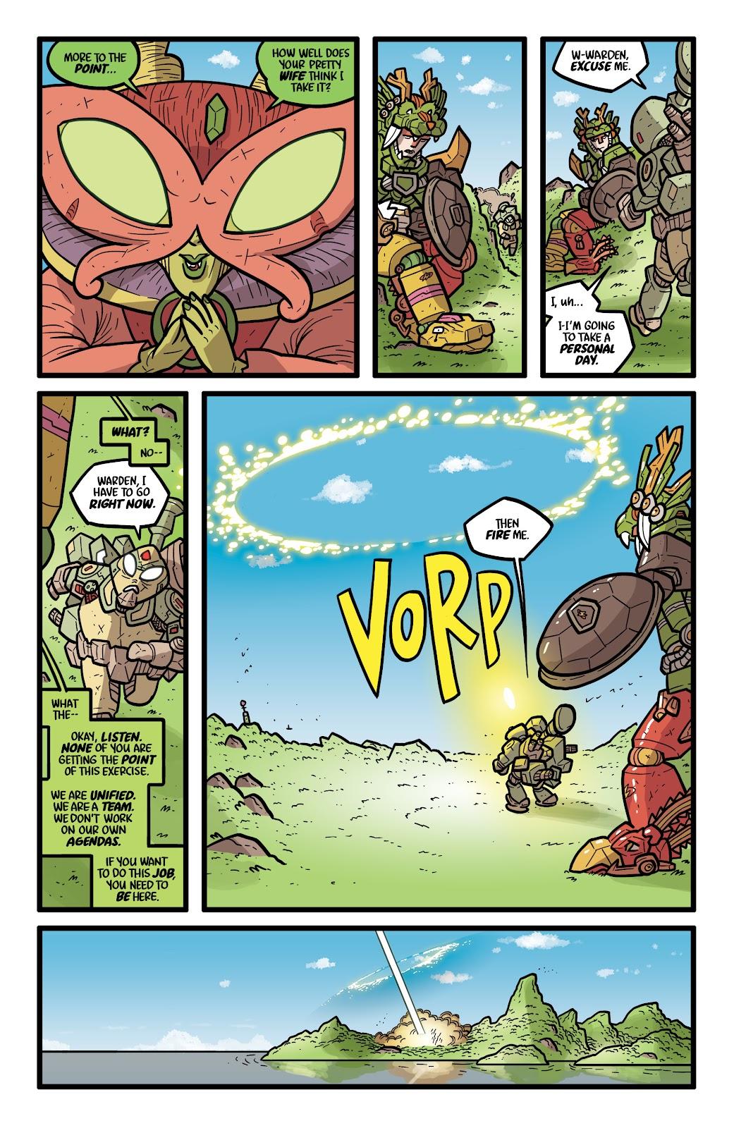 Read online Kaijumax: Season Four comic -  Issue #5 - 19