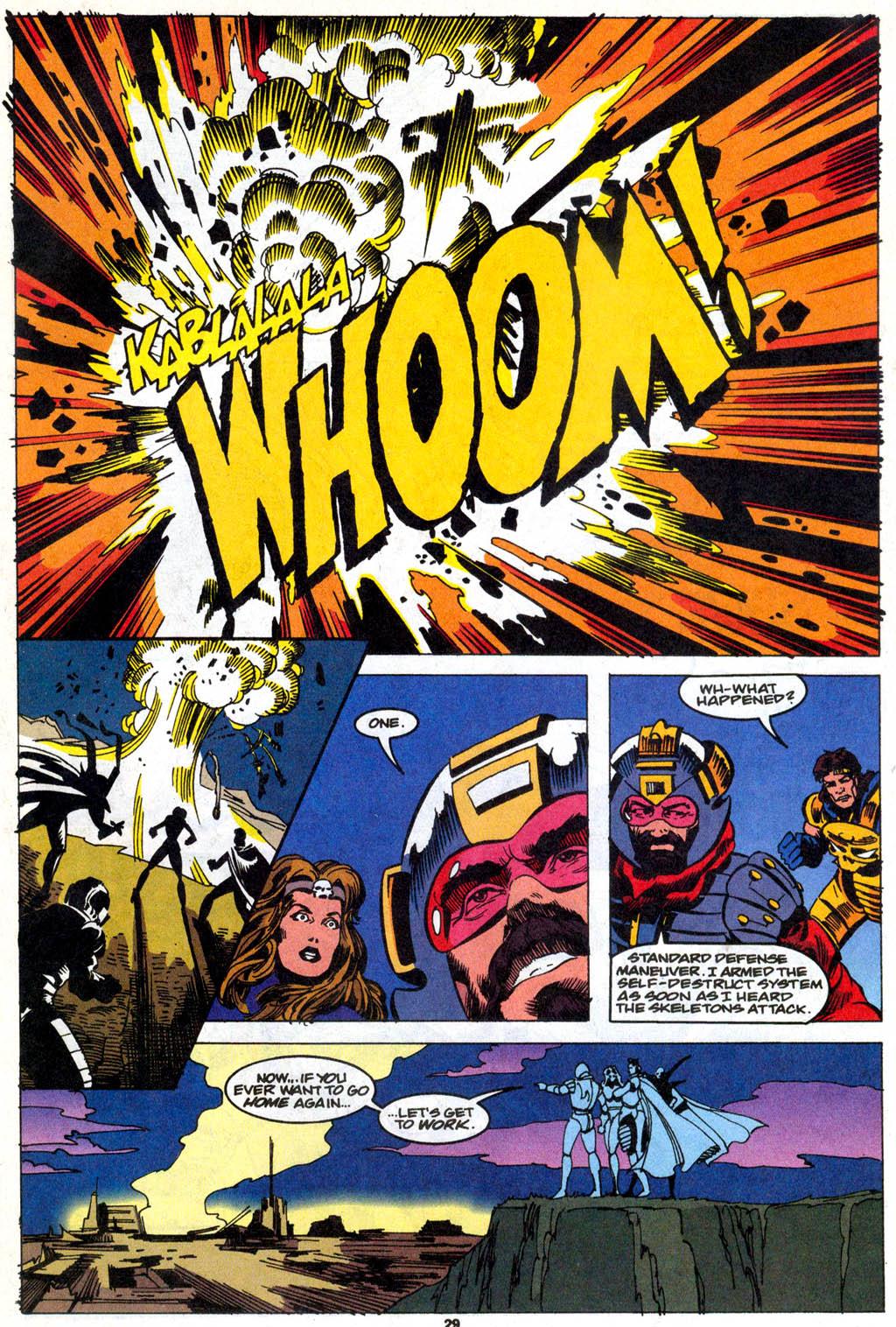 Skeleton Warriors Issue #1 #1 - English 21