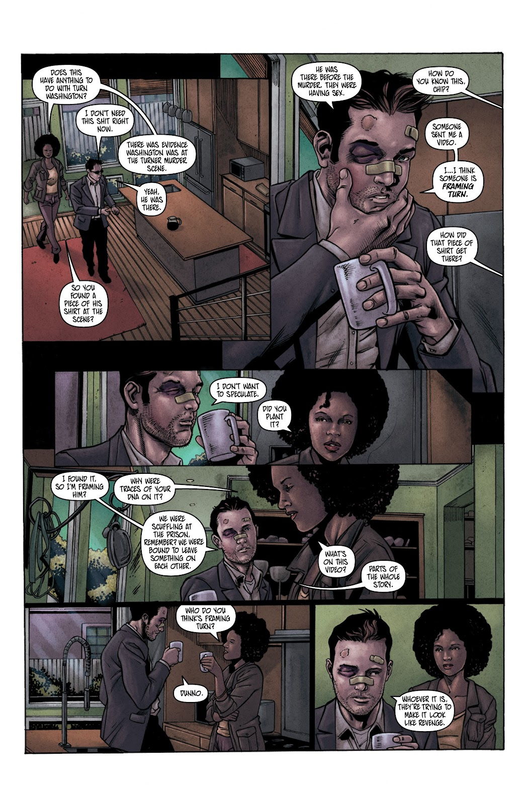 Read online Vindication comic -  Issue #3 - 22