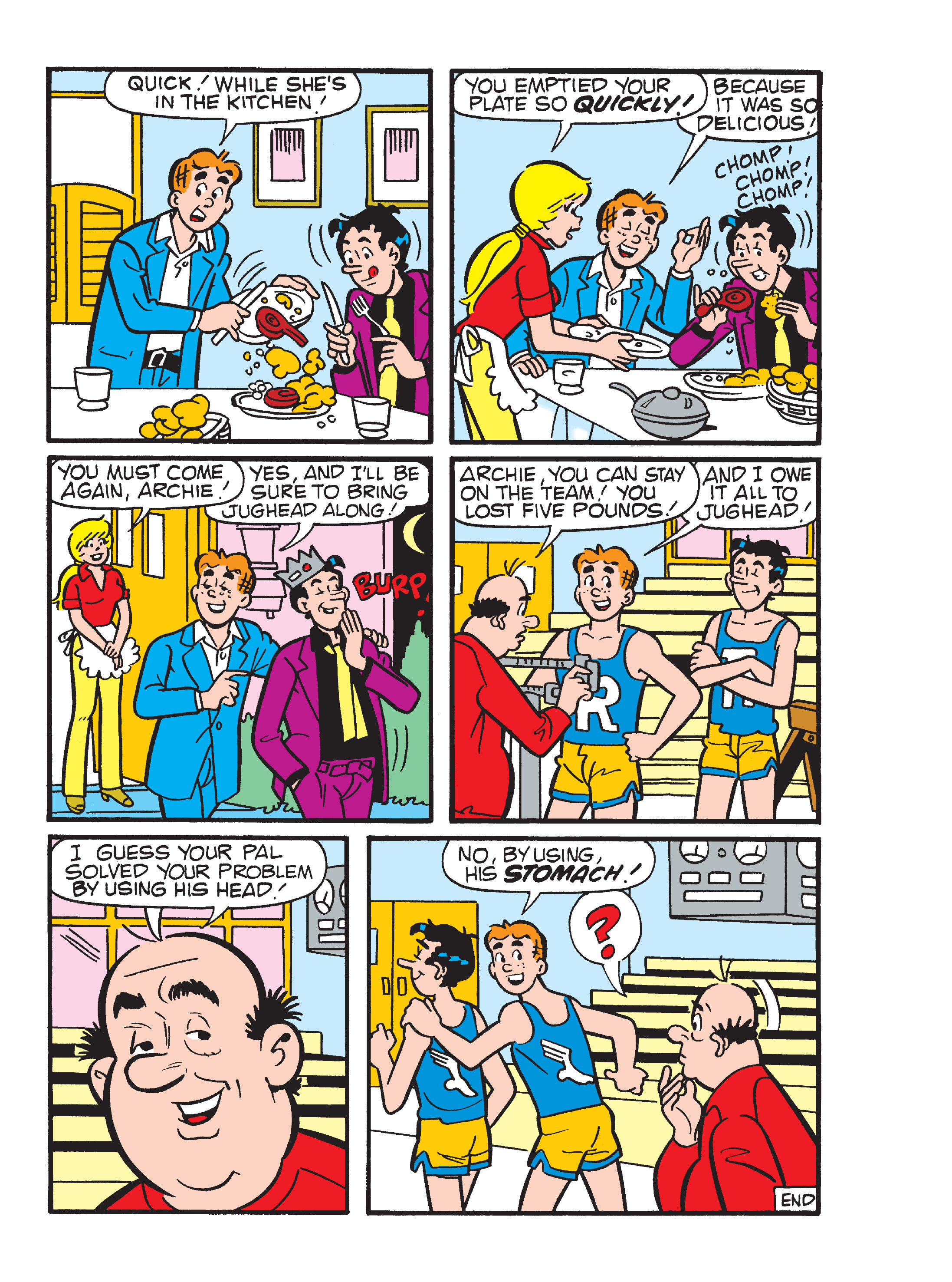Read online Archie 1000 Page Comics Blowout! comic -  Issue # TPB (Part 4) - 147