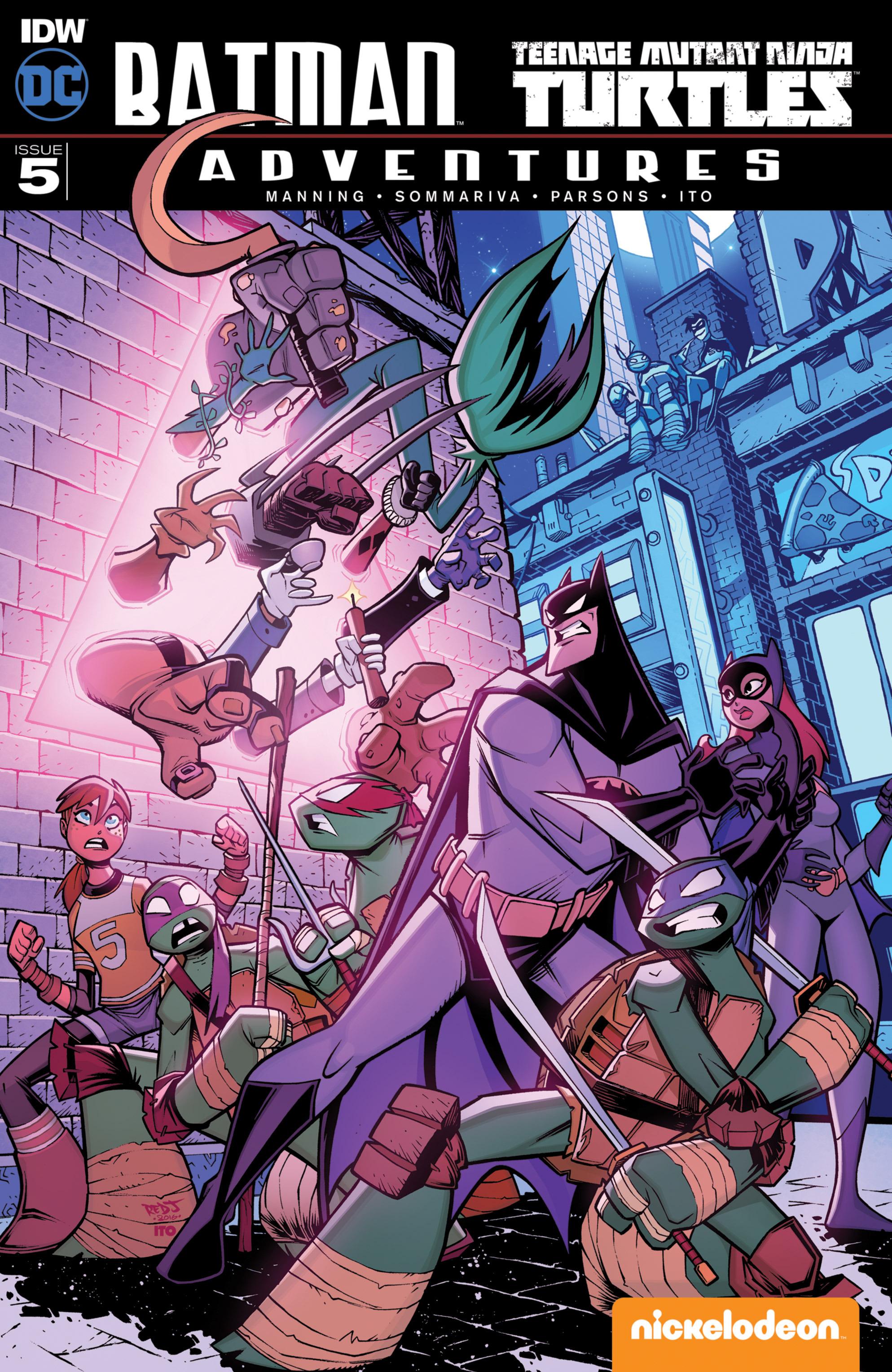 Batman/Teenage Mutant Ninja Turtles Adventure 5 Page 1