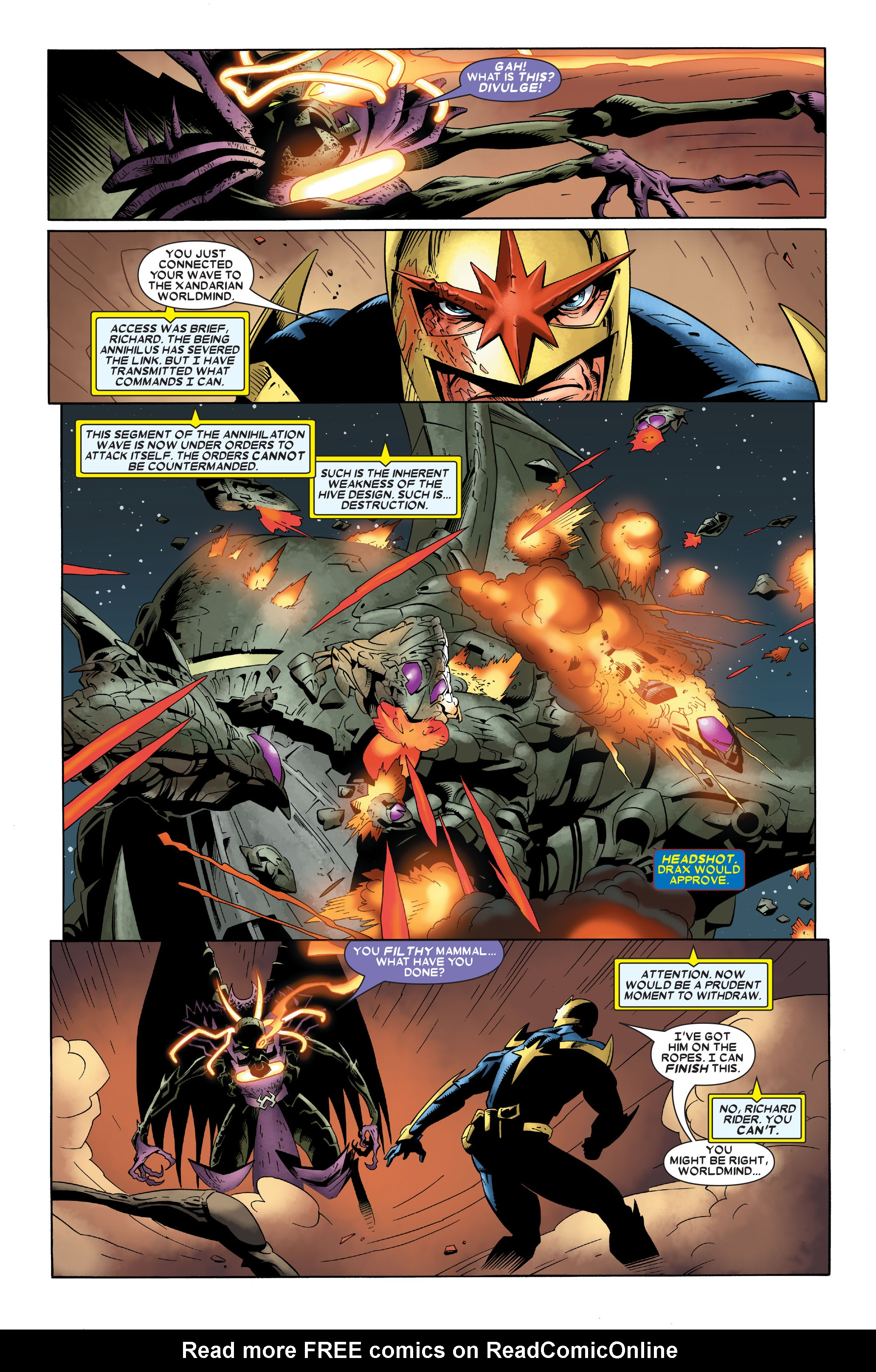 Read online Annihilation: Nova comic -  Issue #4 - 23