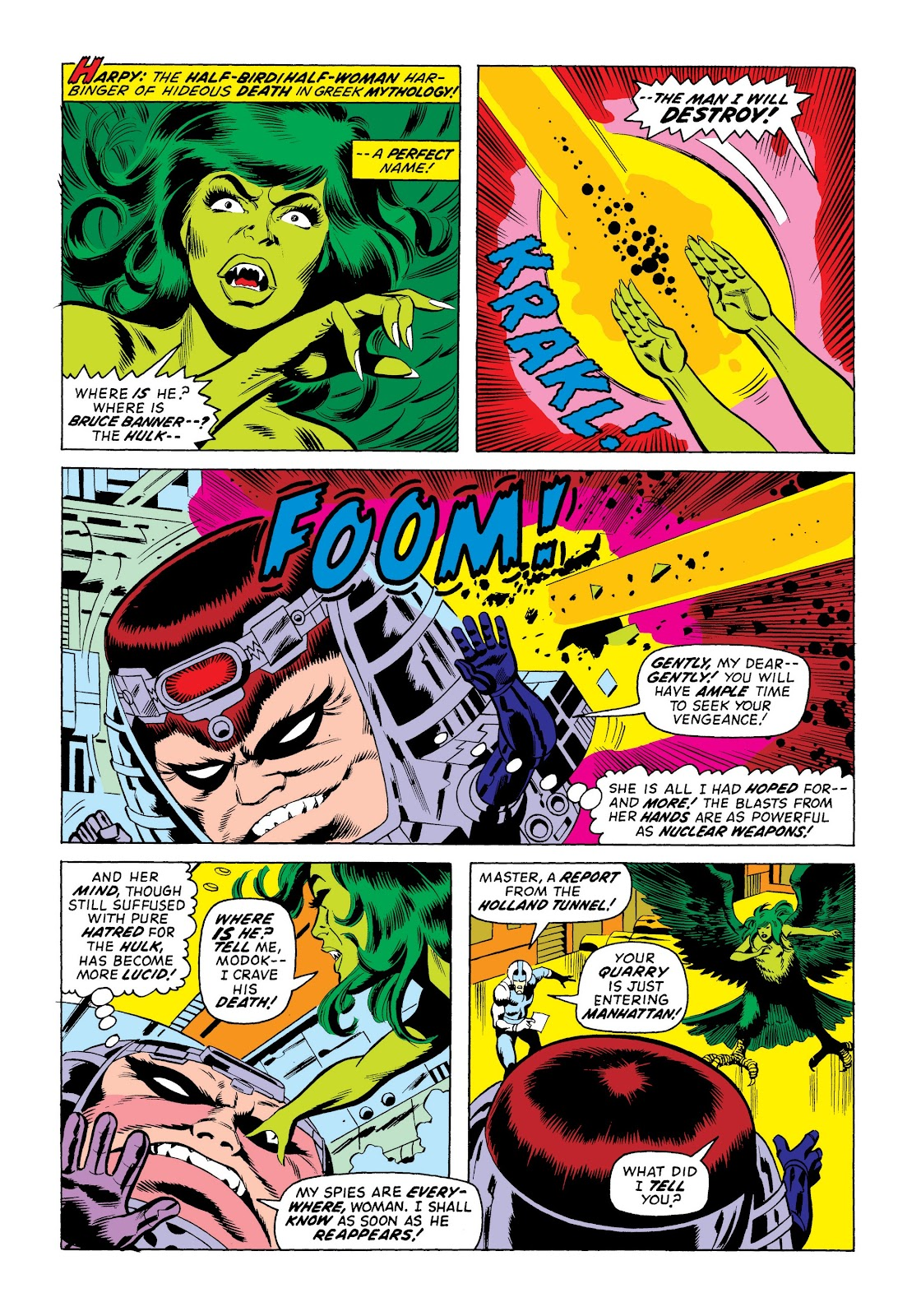 Read online Marvel Masterworks: The Incredible Hulk comic -  Issue # TPB 9 (Part 3) - 50