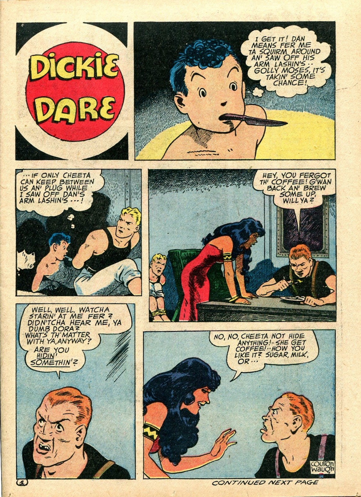 Read online Famous Funnies comic -  Issue #112 - 19