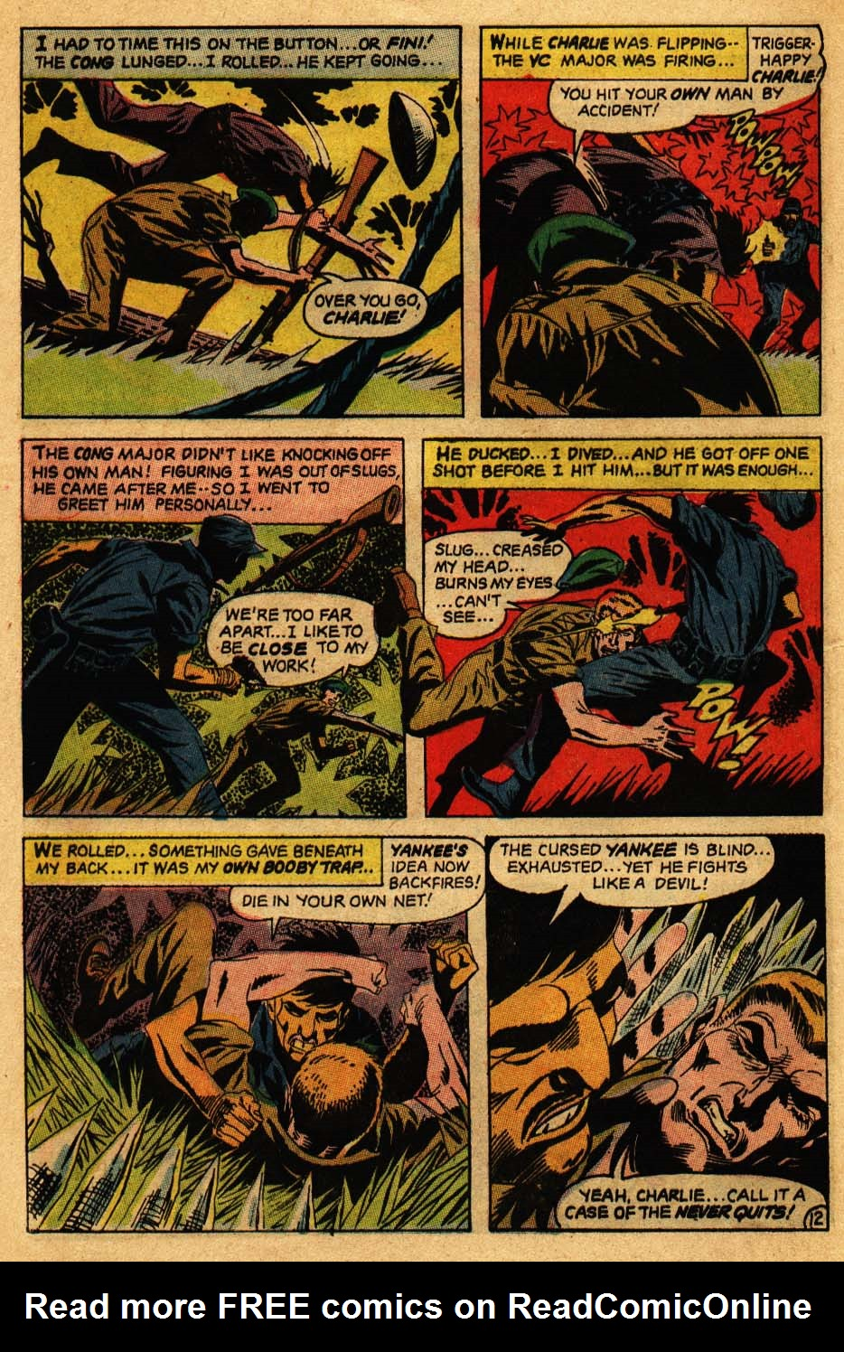 Our Fighting Forces (1954) issue 106 - Page 16