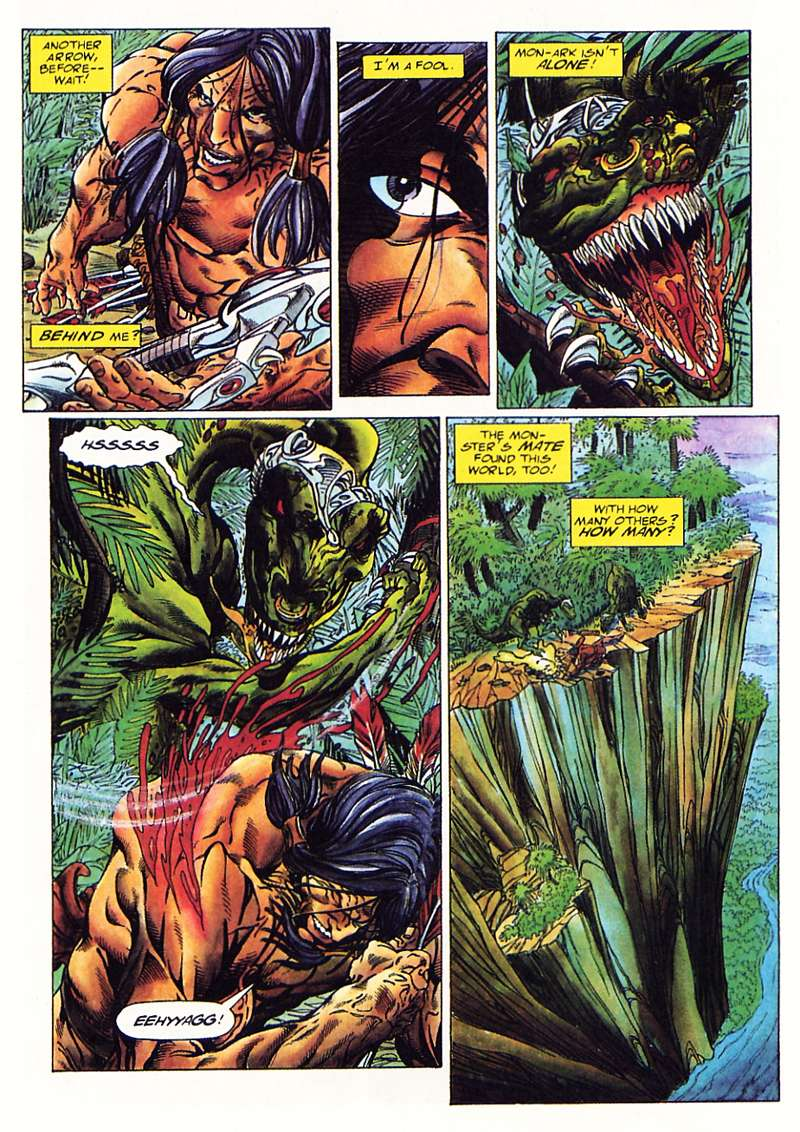 Read online Turok, Dinosaur Hunter (1993) comic -  Issue #1 - 10