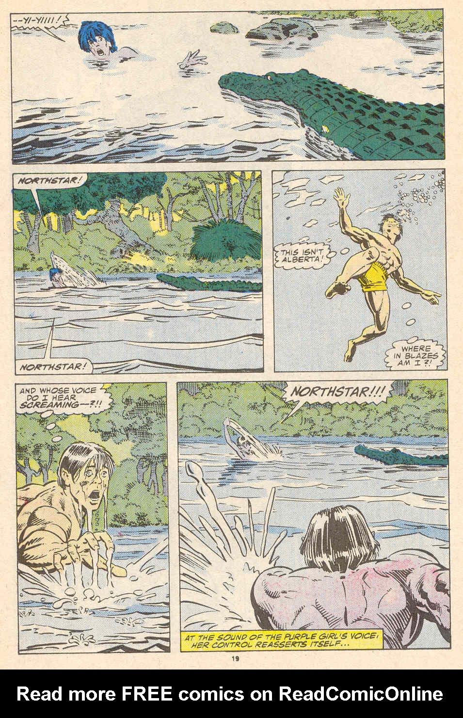 Read online Alpha Flight (1983) comic -  Issue #41 - 20