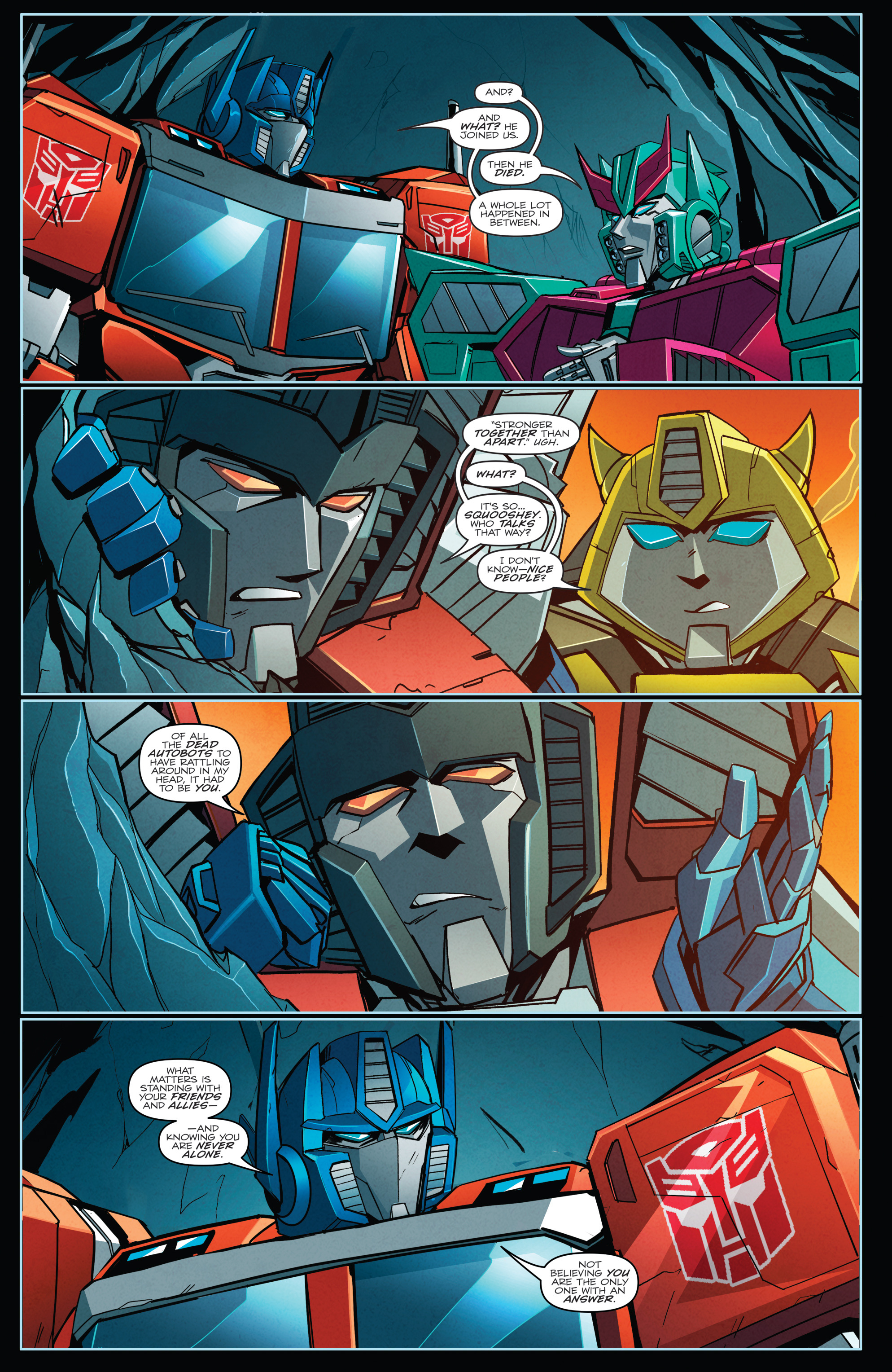 Read online Transformers Annual comic -  Issue # Full - 22