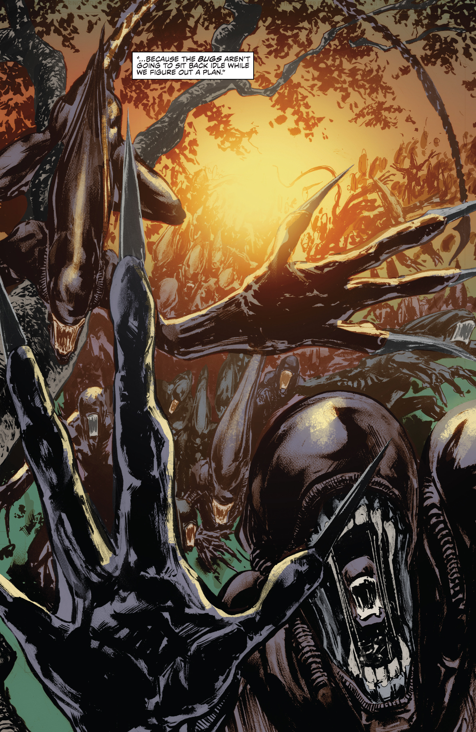 Read online Alien Vs. Predator: Life and Death comic -  Issue #1 - 14