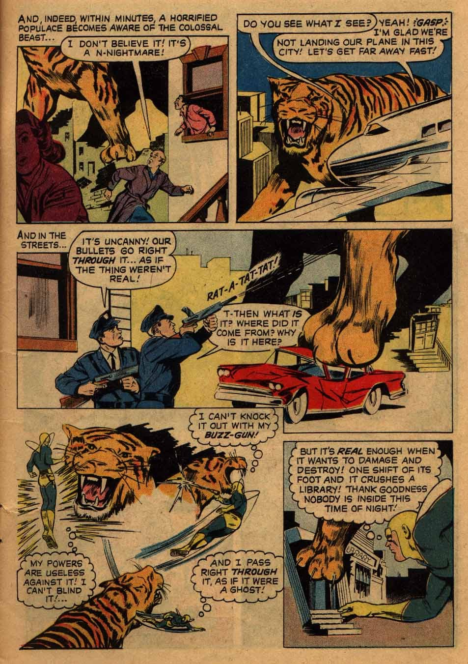 Adventures of the Fly issue 13 - Page 7