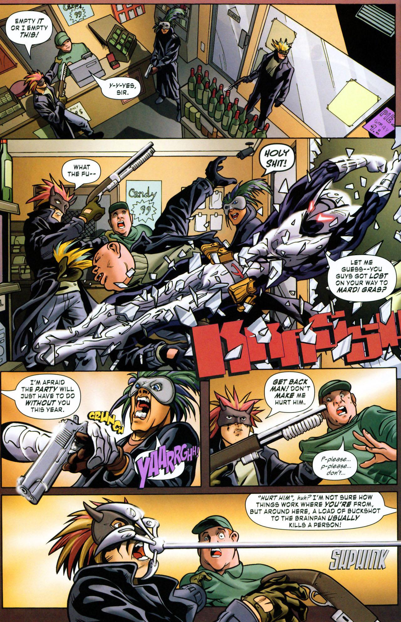 Read online ShadowHawk (2005) comic -  Issue #1 - 20