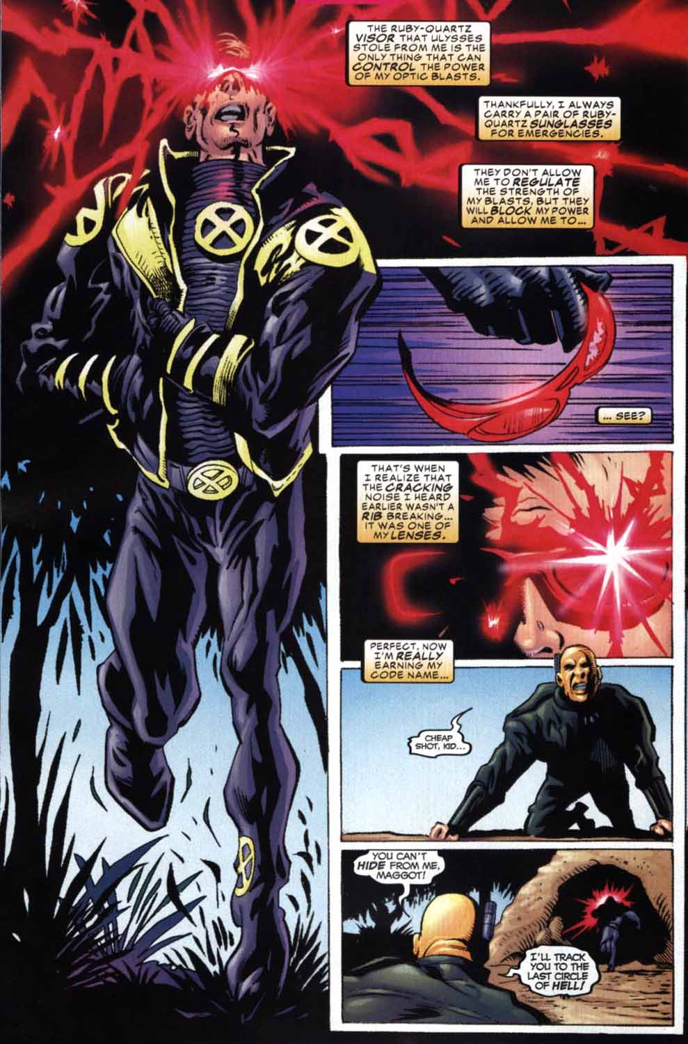 Read online Cyclops (2001) comic -  Issue #2 - 20