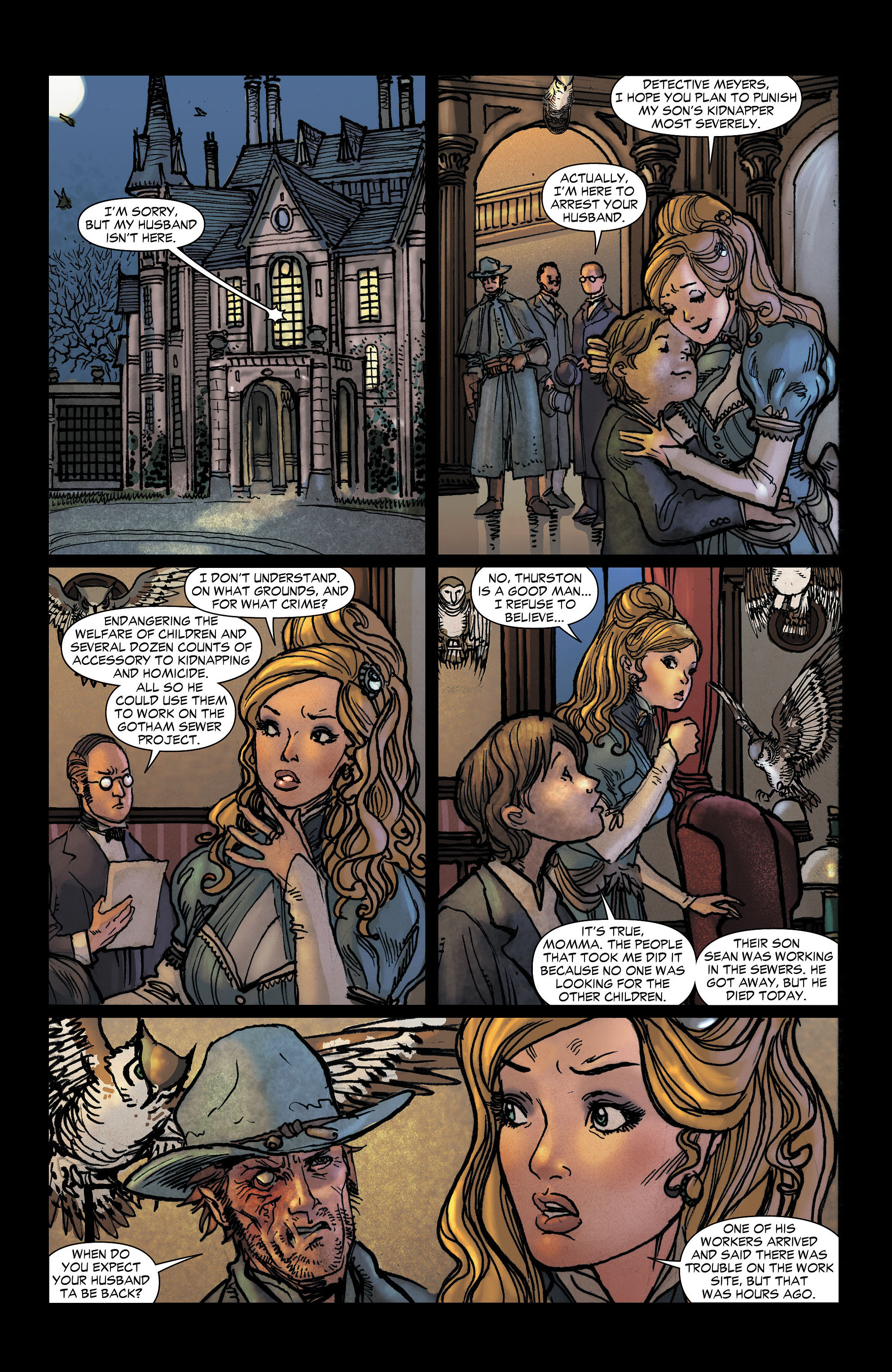 Read online All-Star Western (2011) comic -  Issue #6 - 18